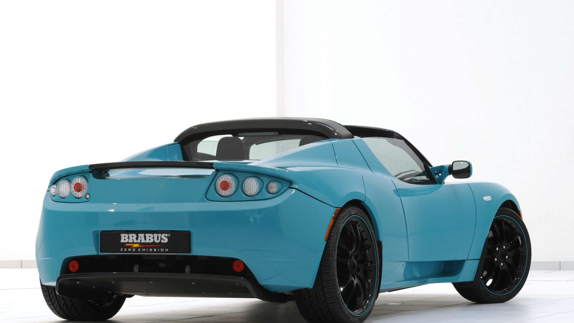 Brabus Tesla Roadster Sport Green Package