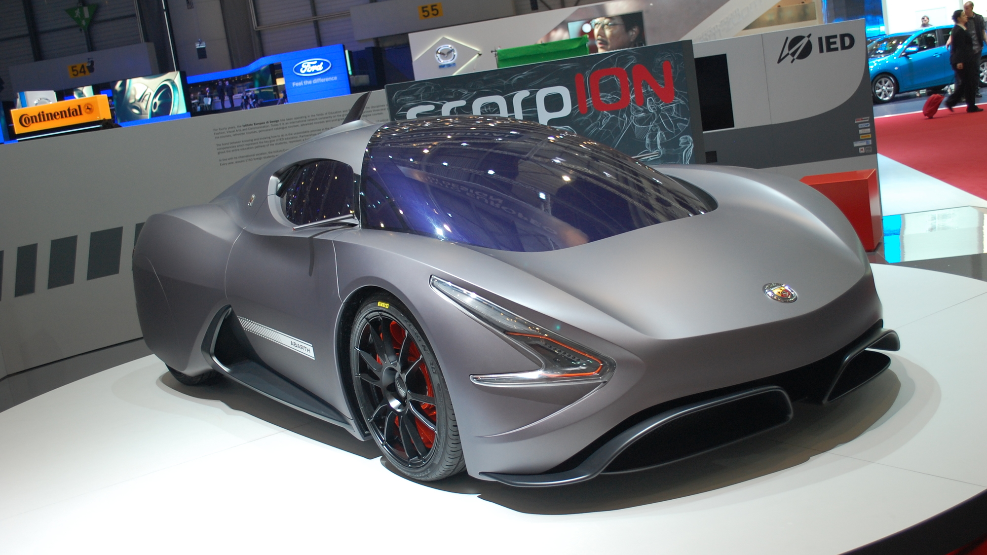 IED Abarth scorpION Concept