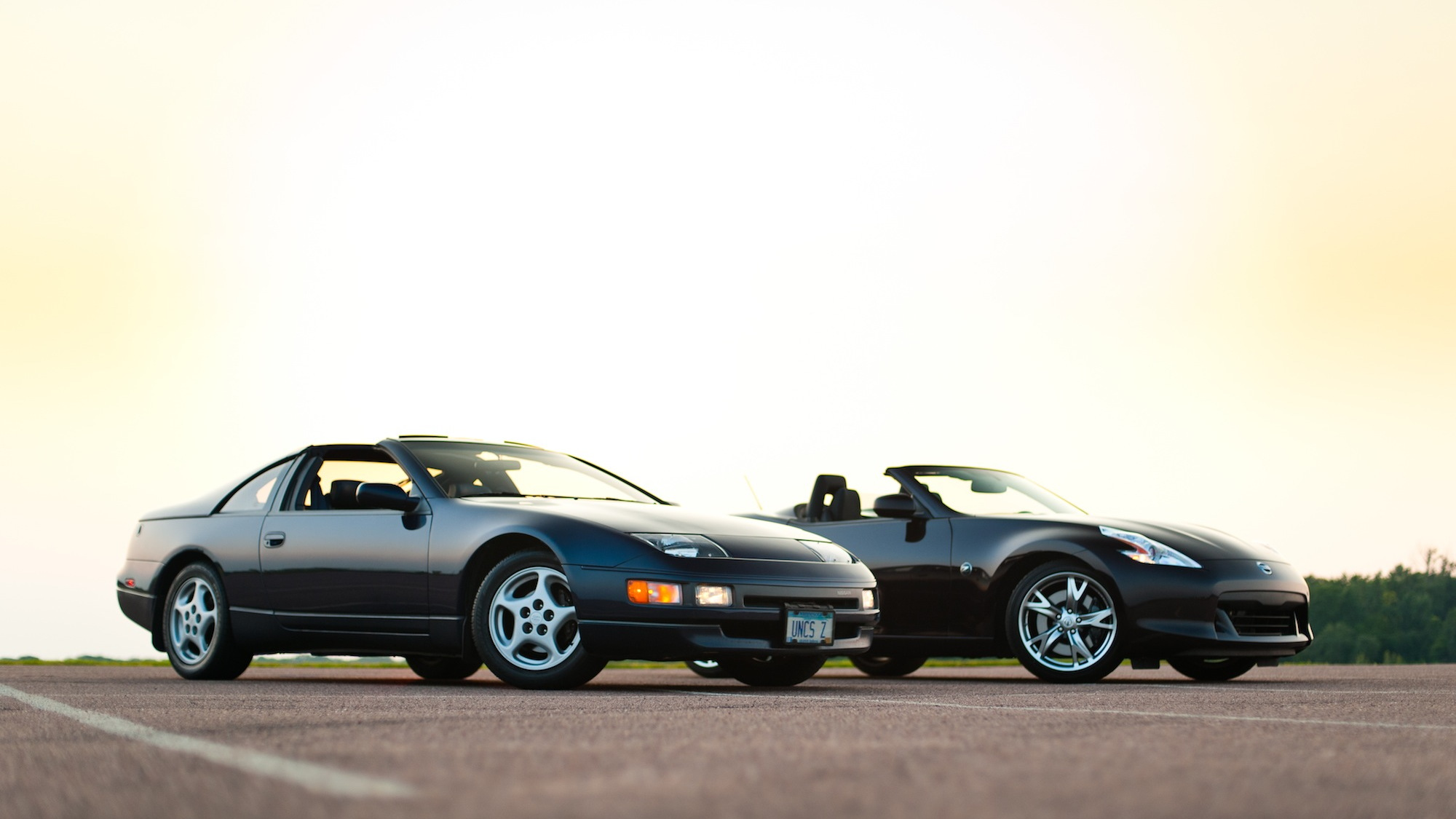 2011 Nissan 370Z And 1990 Nissan 300ZX. Photos by Alex Bellus