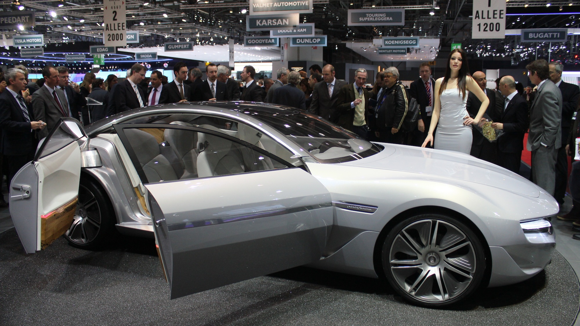 Pininfarina Cambiano live photos, 2012 Geneva Motor Show