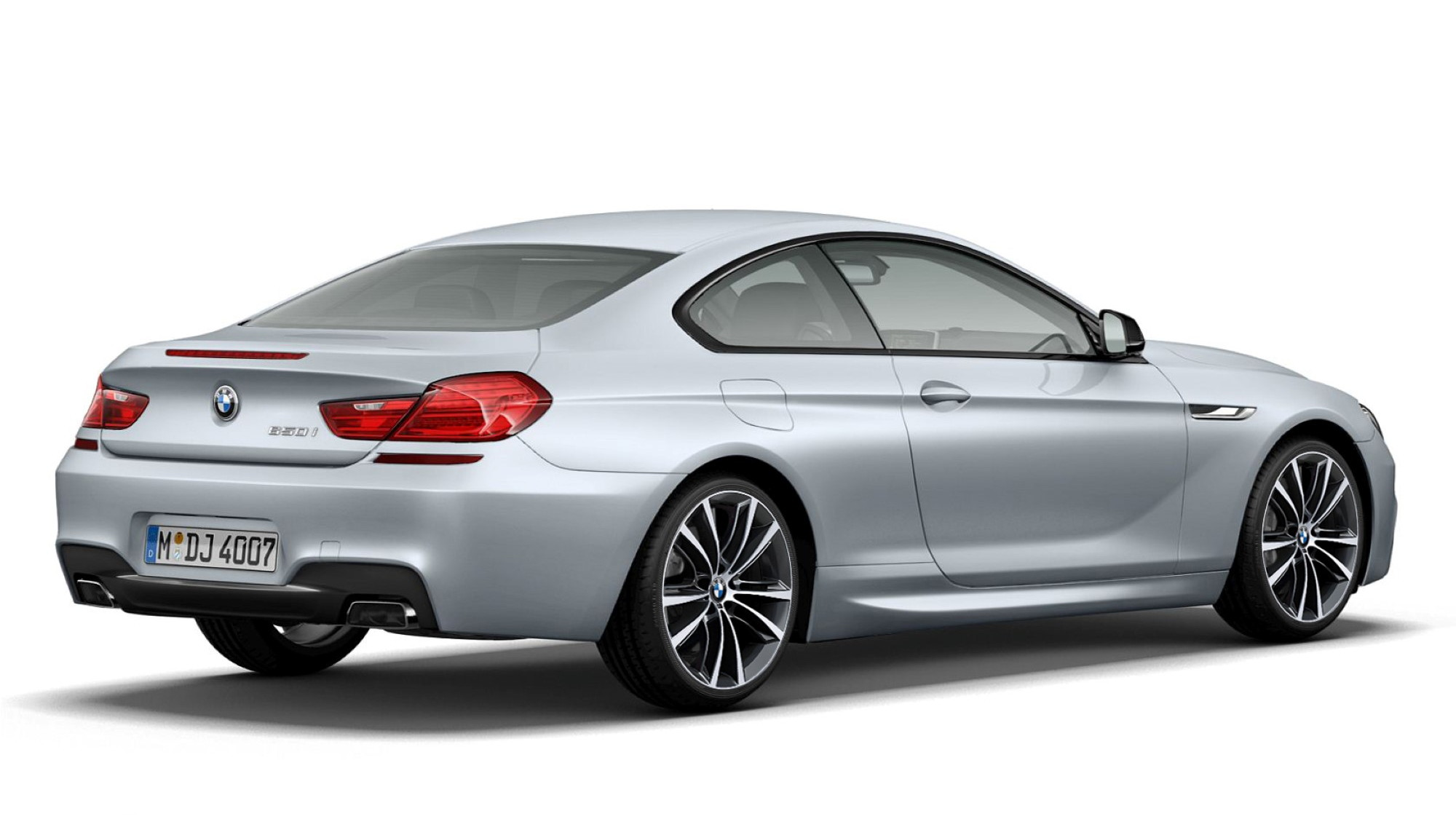2013 BMW 6-Series Coupe Frozen Silver Edition