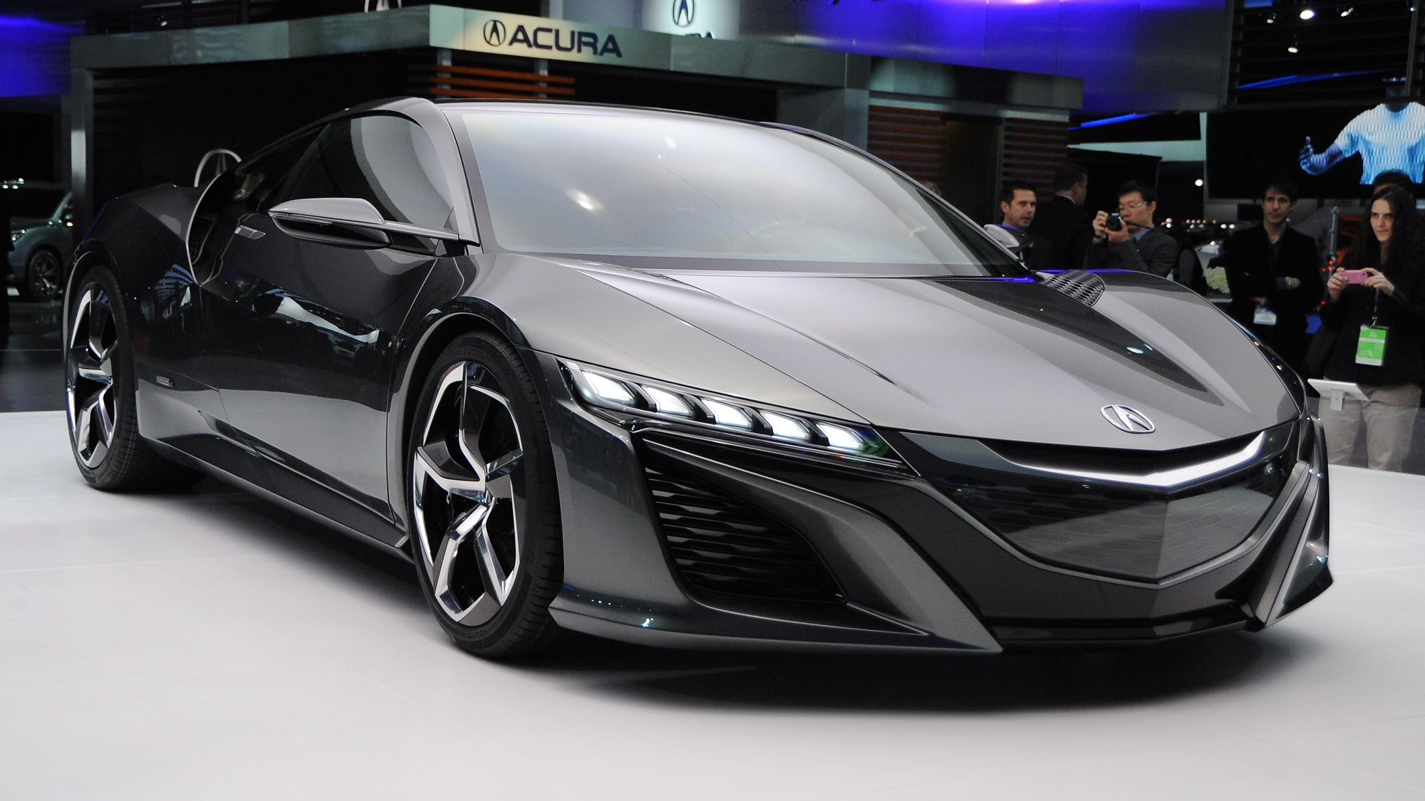 Acura NSX And Honda Civic Type R Concepts Headed For Goodwood