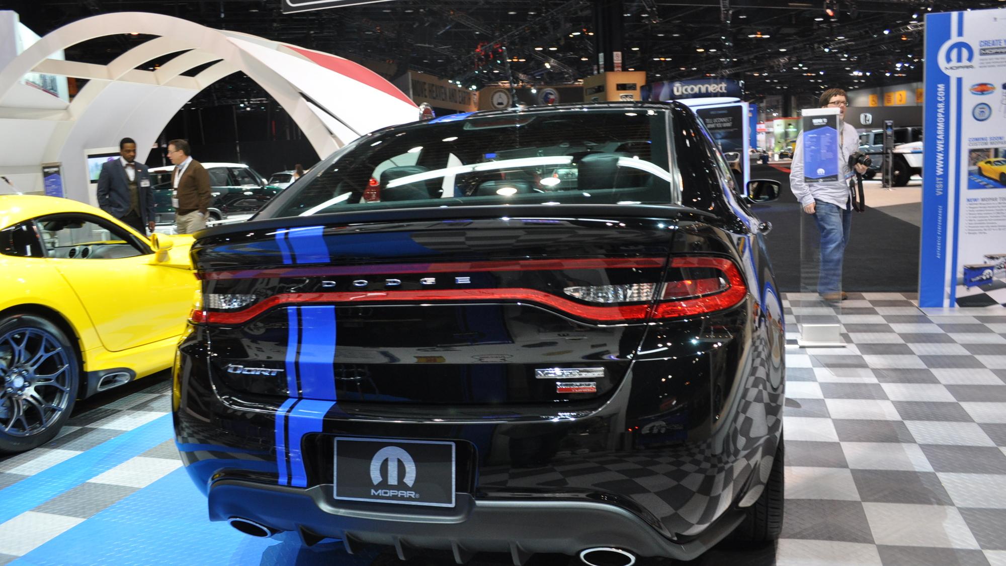 Limited Edition Mopar 13 Dodge Dart Debuts In Chicago