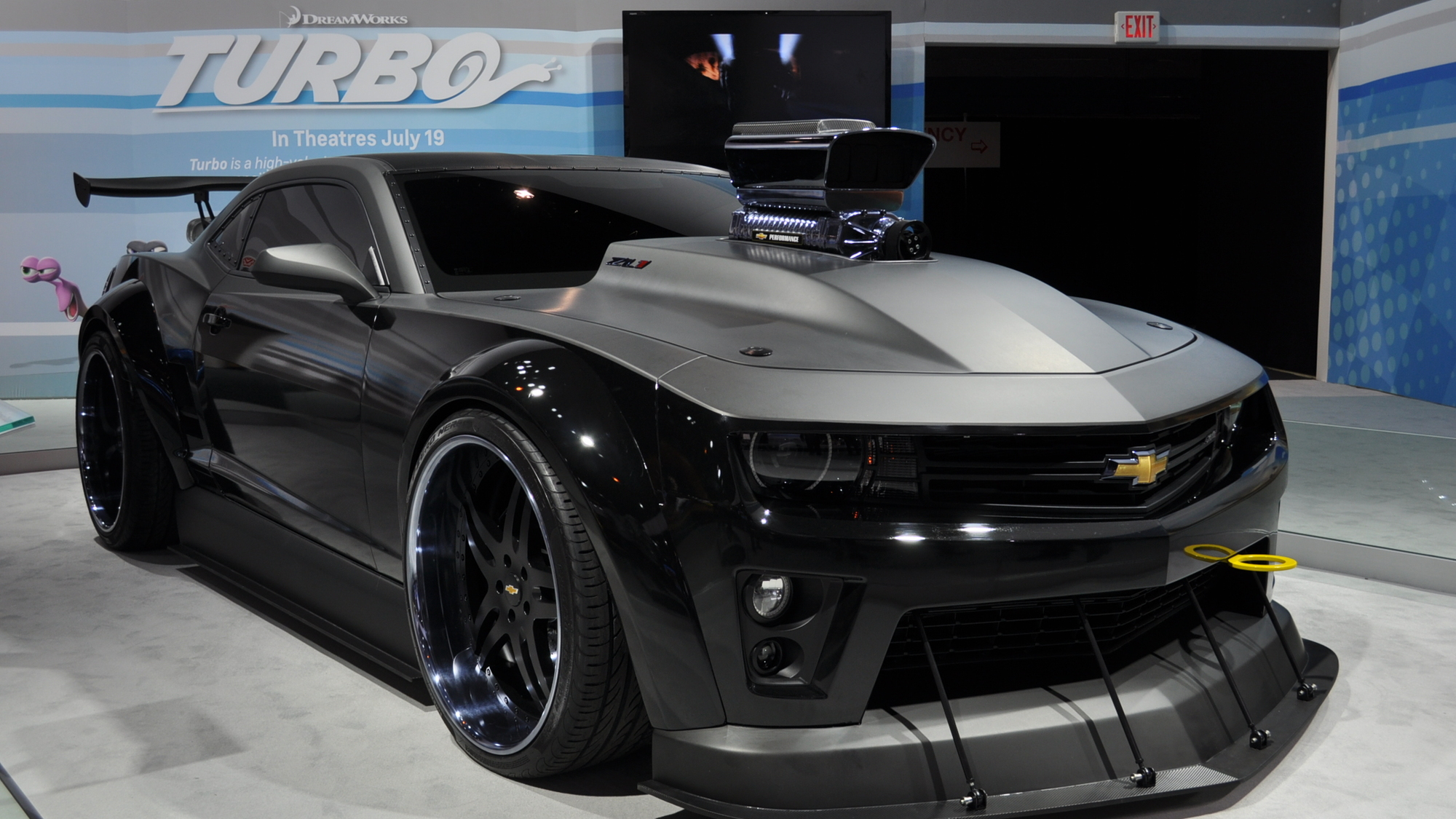 Chevrolet Camaro 'Turbo' Concept Live Photos