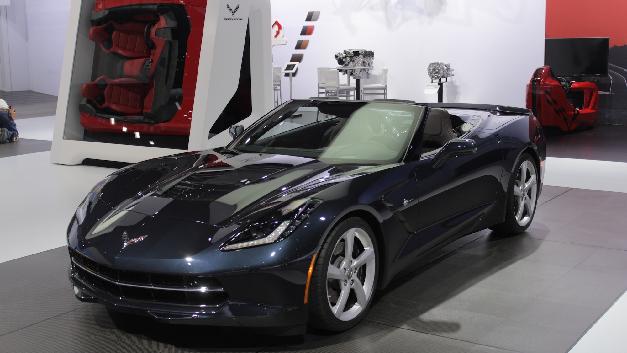 2014 Chevrolet Corvette Stingray Convertible, 2013 New York Auto Show