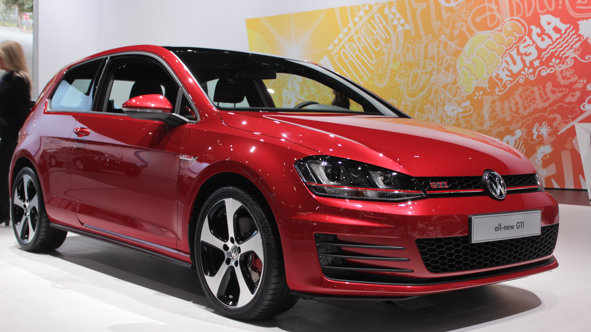 2014 Volkswagen GTI, 2013 New York Auto Show