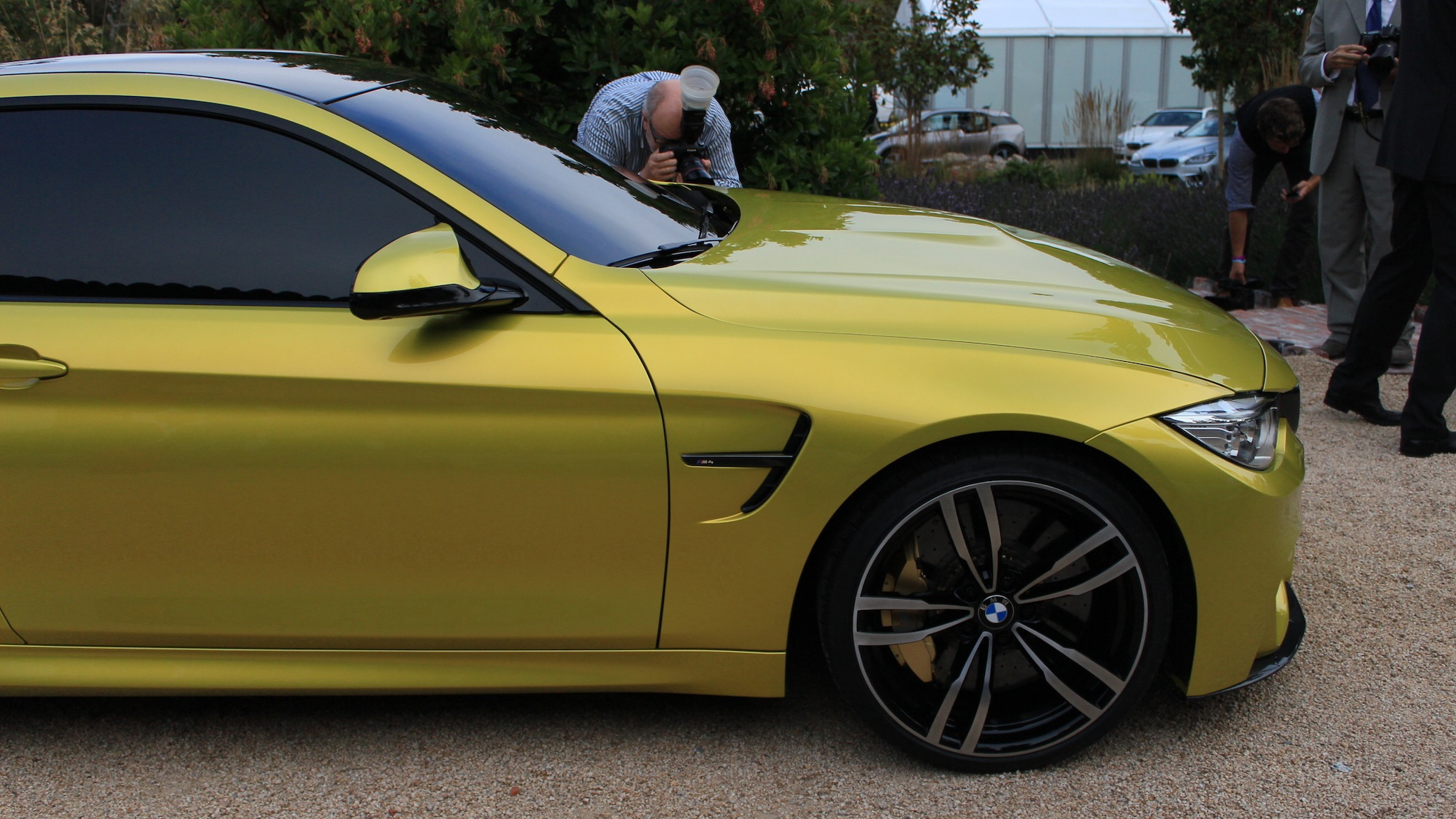 BMW Concept M4 Coupe live photos, Pebble Beach, 2013
