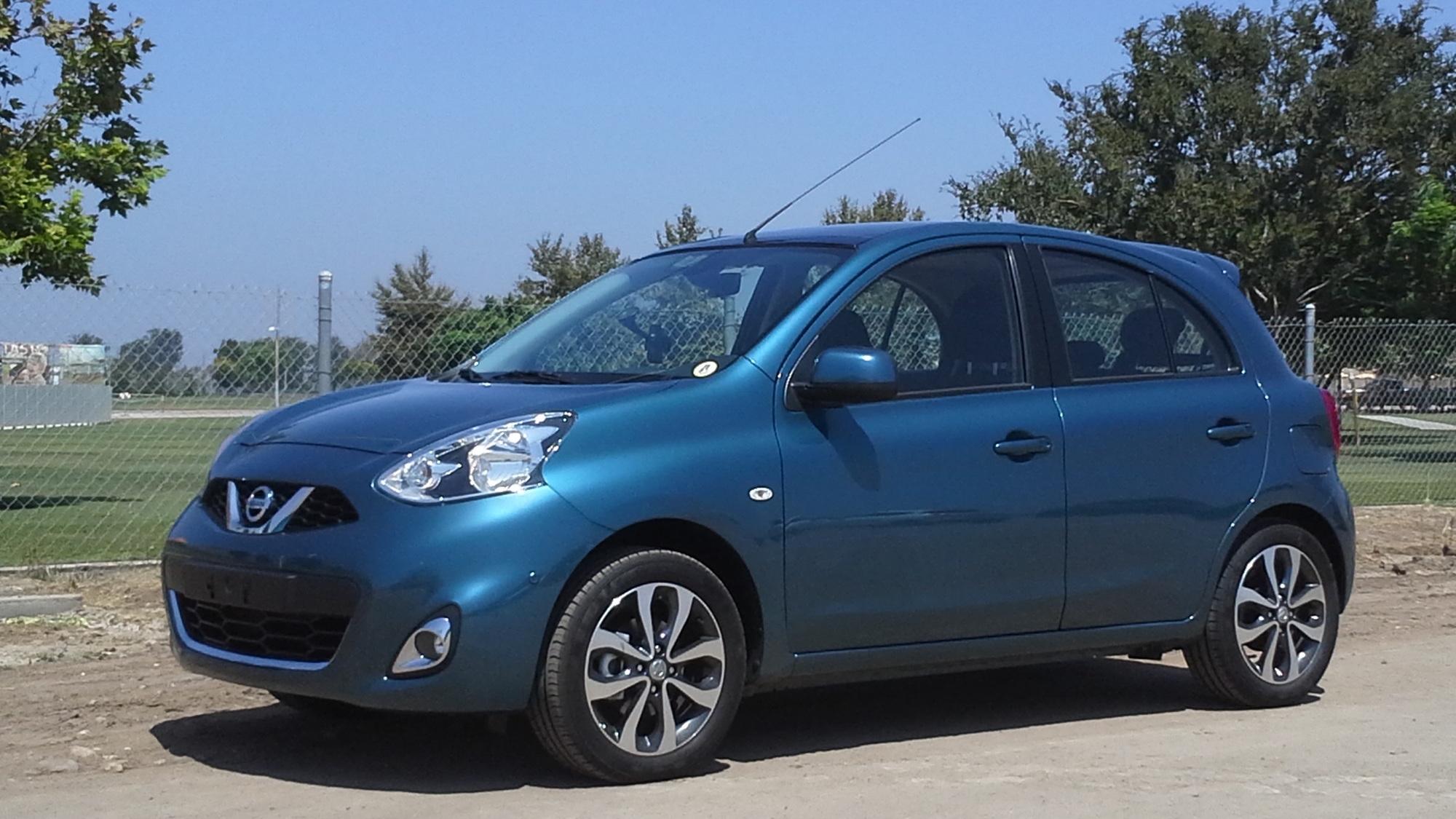 2013 Nissan Micra (European model)