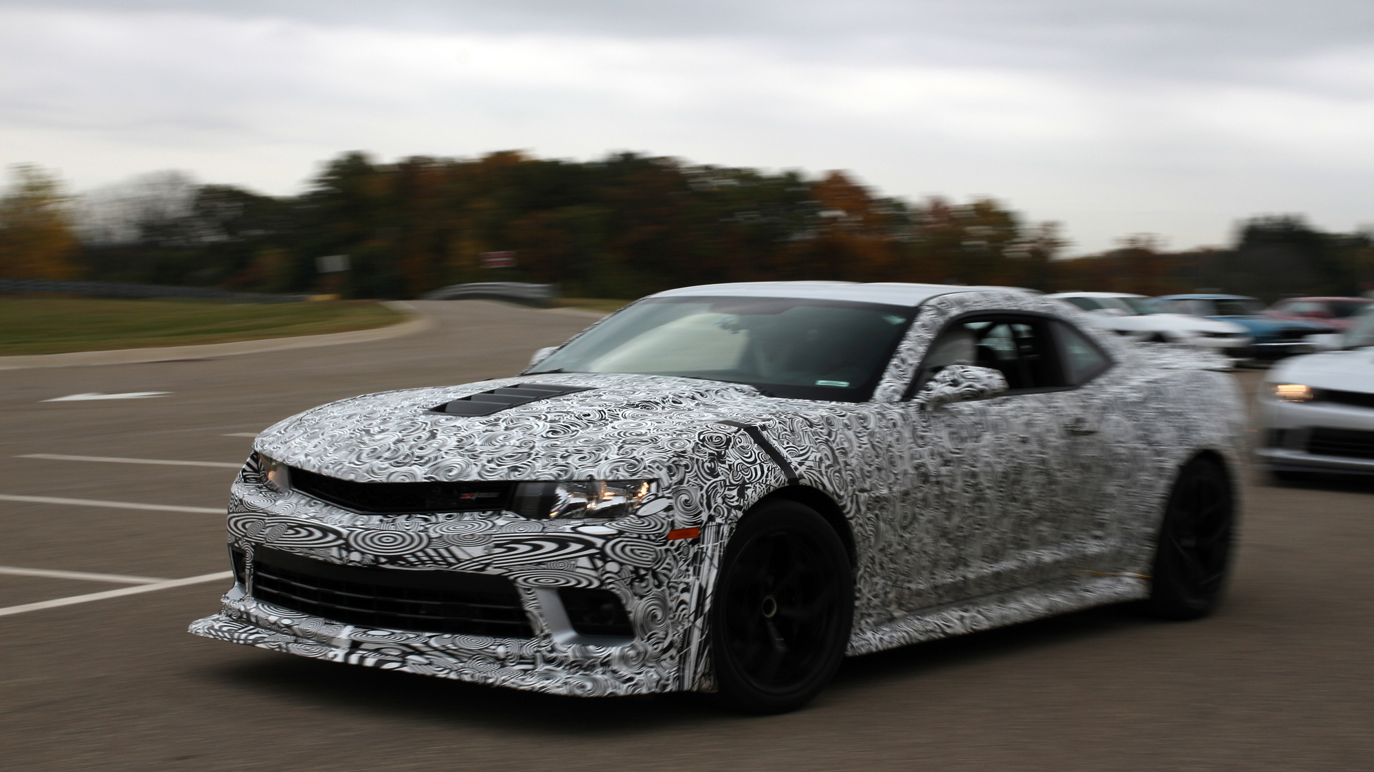 The Camaro Z 28 Is So Fast It Outran Its Own Tires Here S