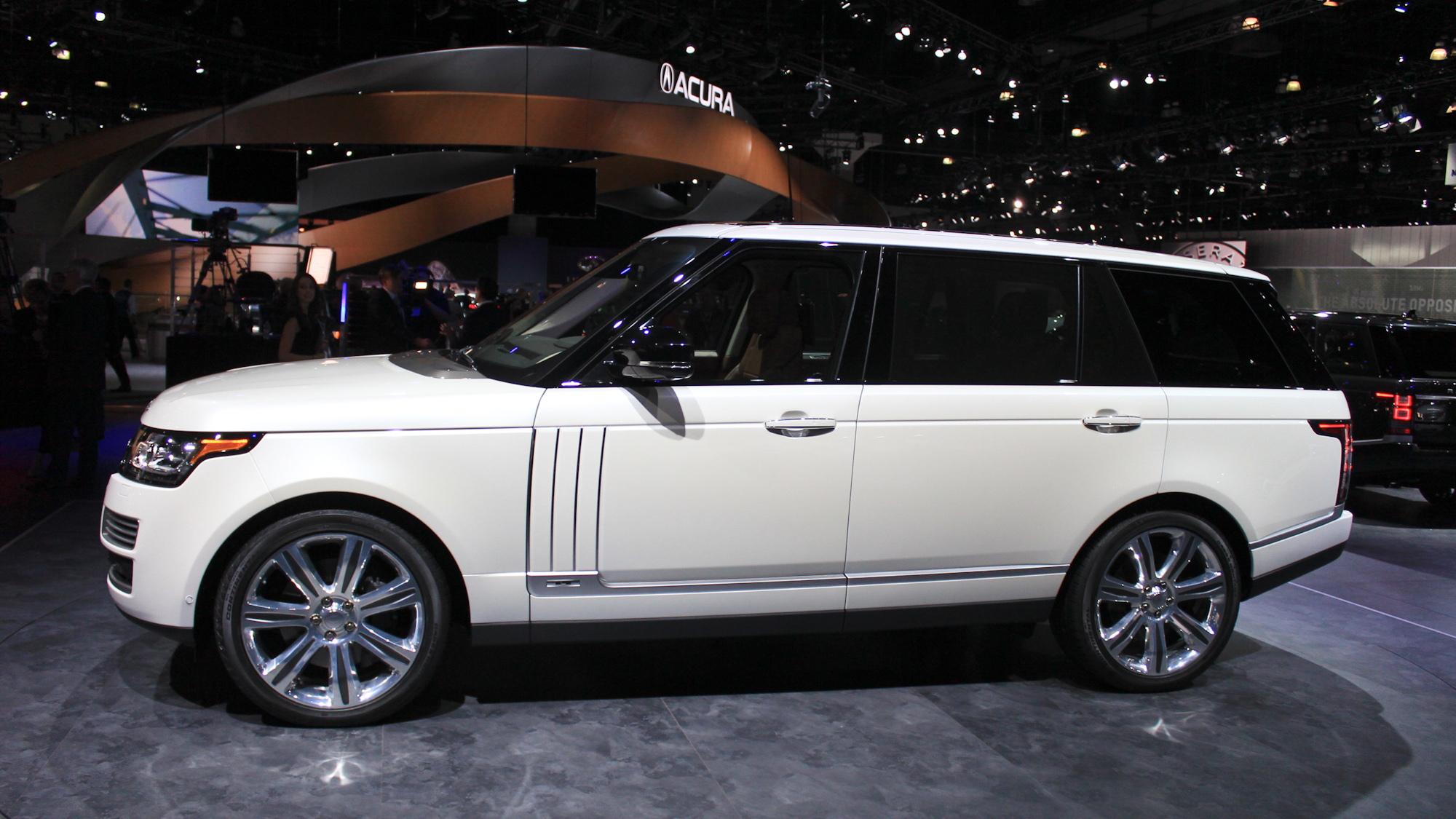 2014 Land Rover Range Rover Long-Wheelbase Autobiography Black, 2013 Los Angeles Auto Show