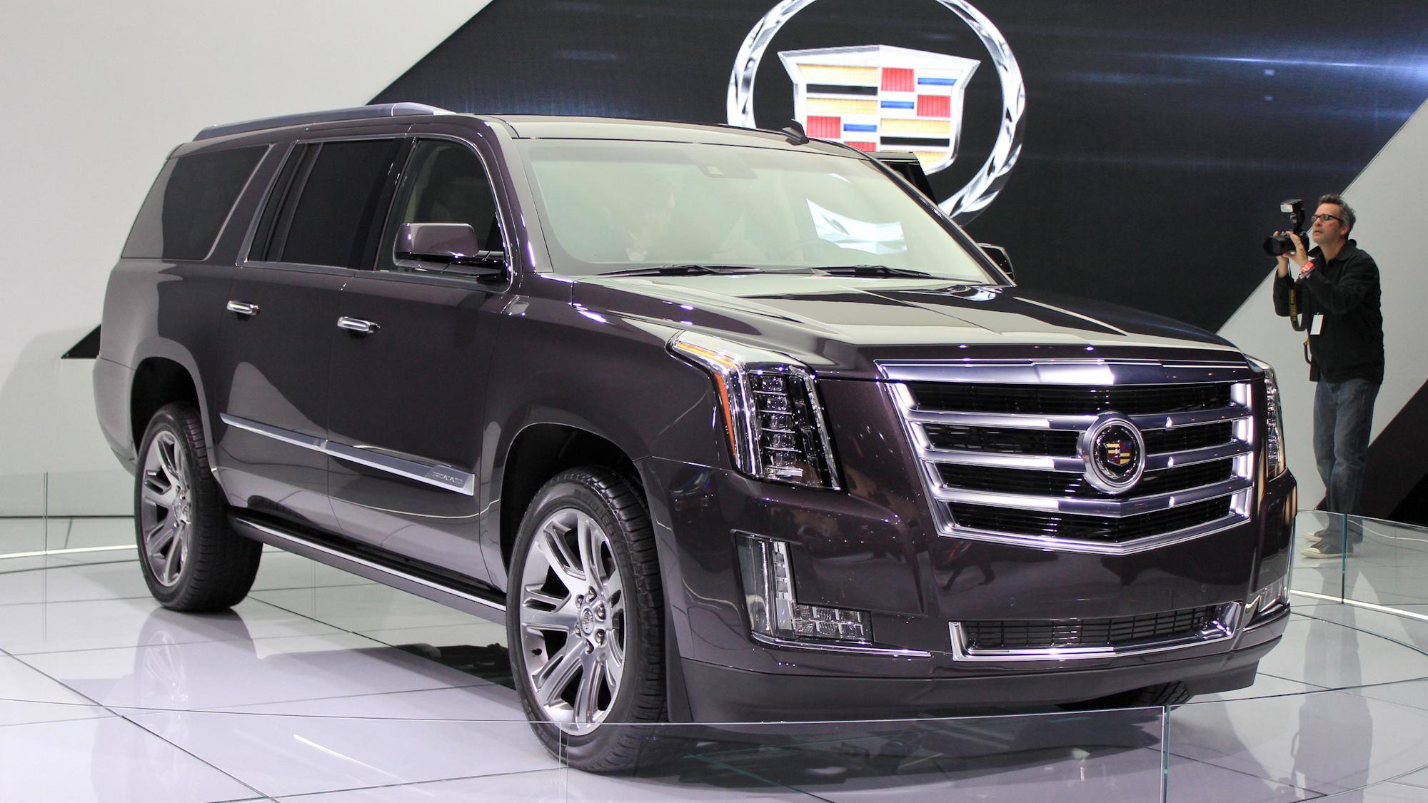 2015 Cadillac Escalade, 2013 Los Angeles Auto Show