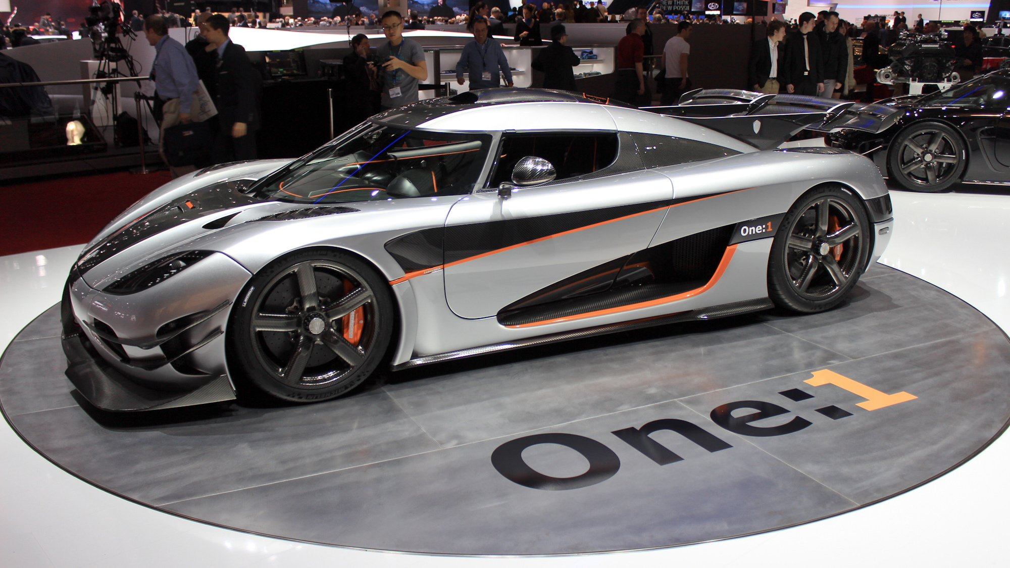 Koenigsegg One:1 live photos, 2014 Geneva Motor Show