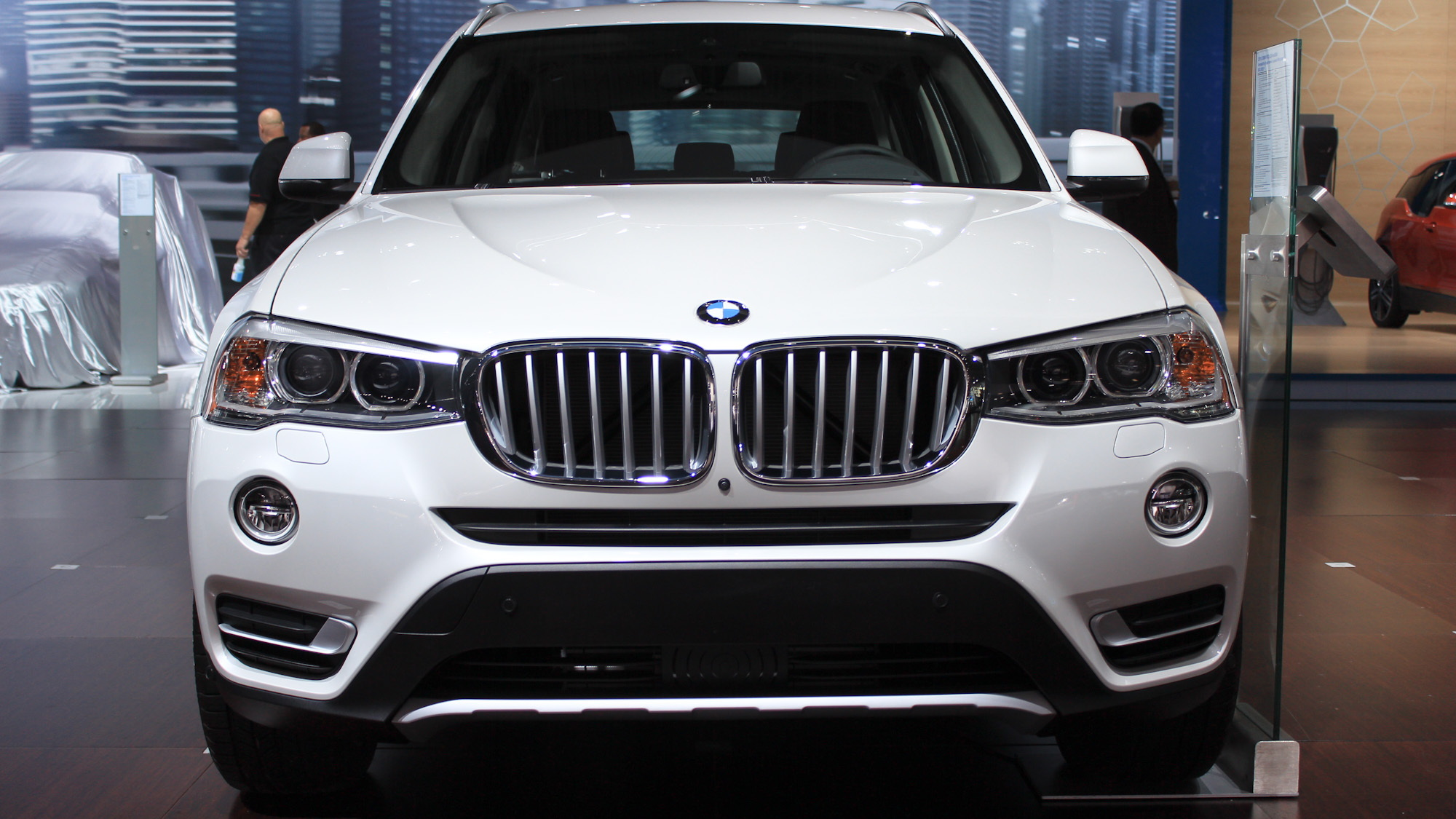 2015 BMW X3 xDrive 28d, 2014 New York Auto Show