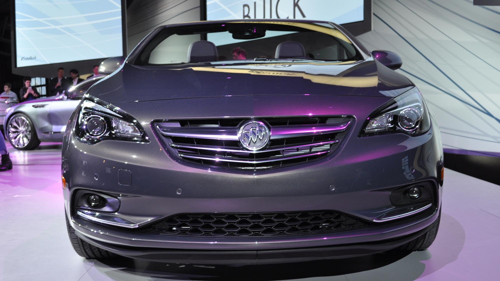 2016 Buick Cascada Live Photos - 2015 Detroit Auto Show