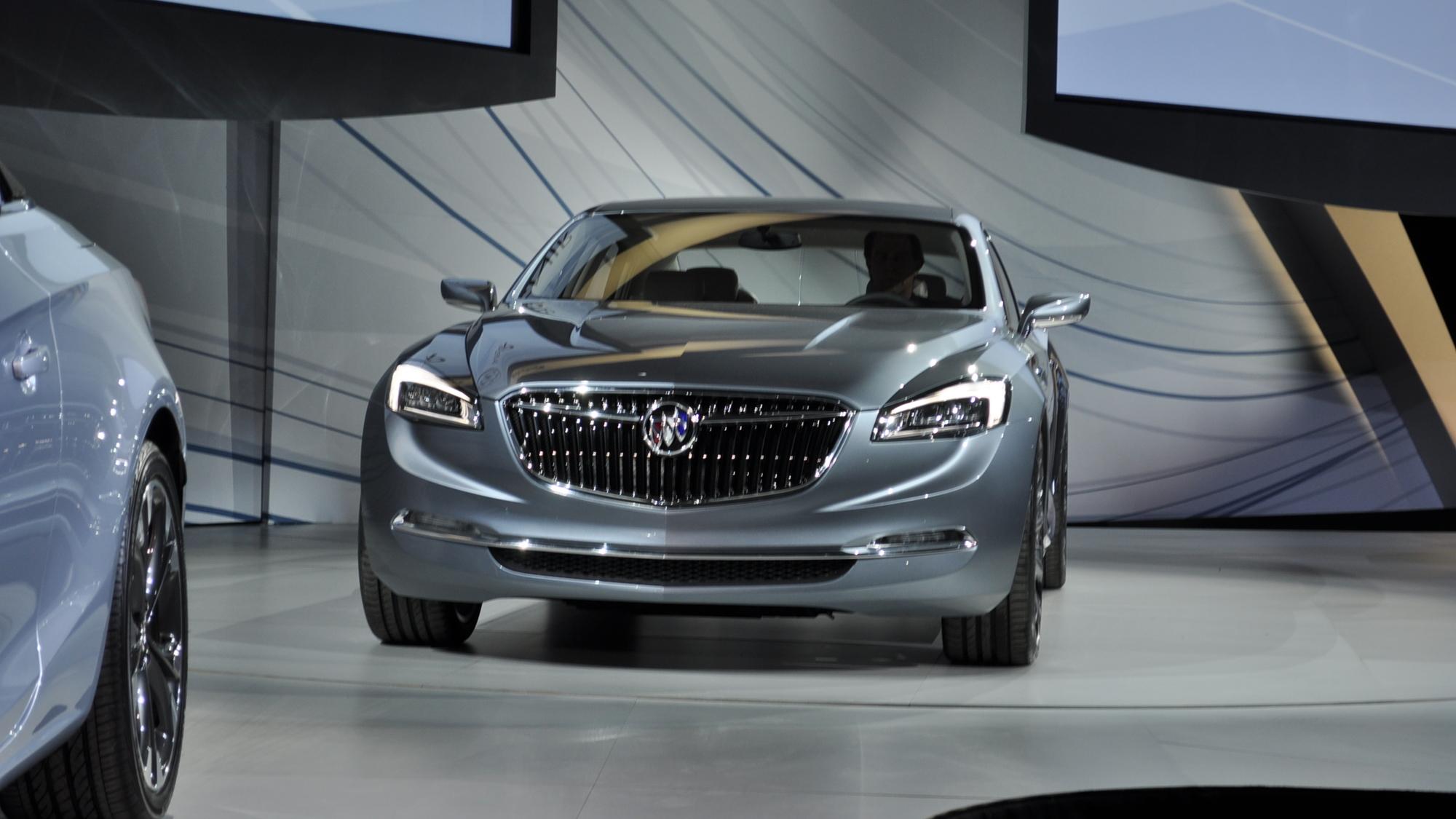 Buick Avenir Concept Live Photos - 2015 Detroit Auto Show