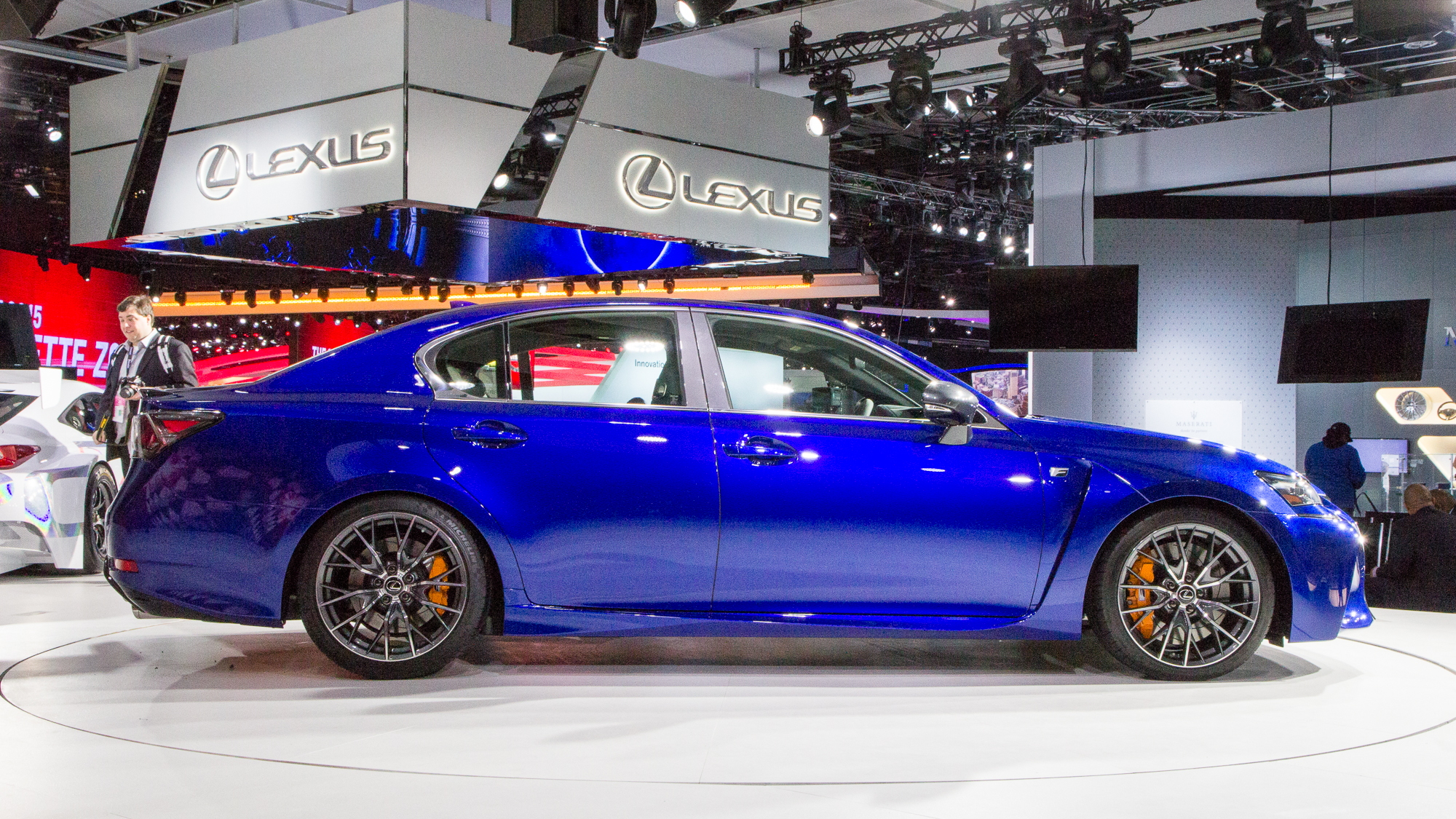 2016 Lexus GS F live photos, 2015 Detroit Auto Show