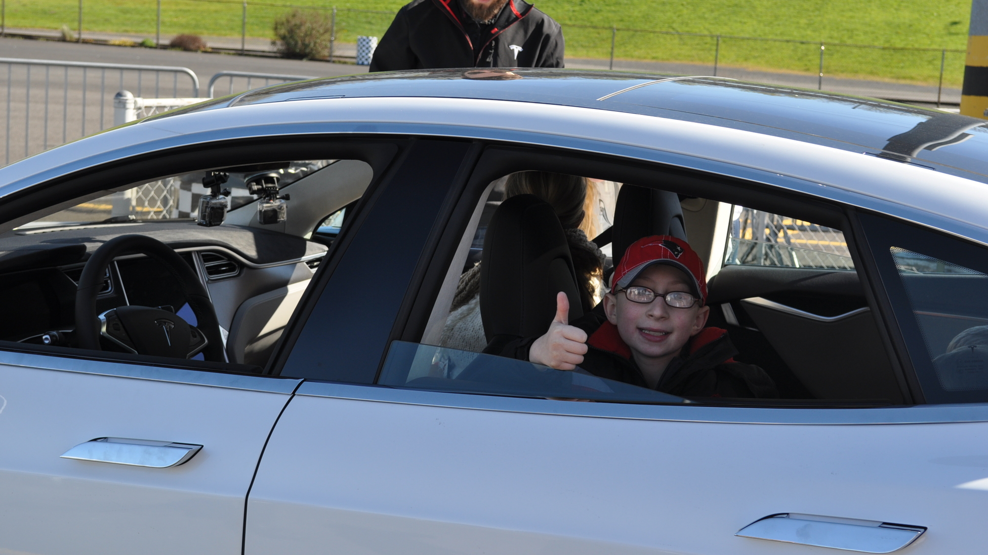 Dream Drives for Kids And Tesla Motors Event