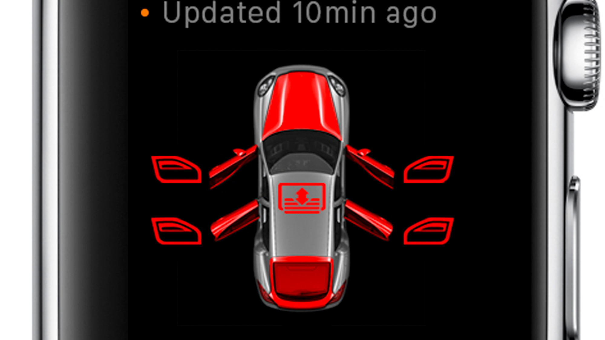 Porsche Car Connect for Apple Watch