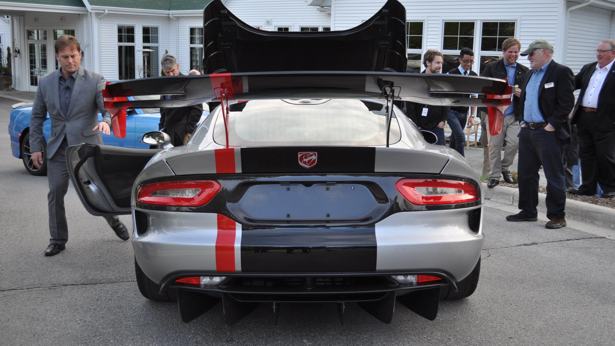 2016 Dodge Viper ACR, 2015 MAMA Spring Rally