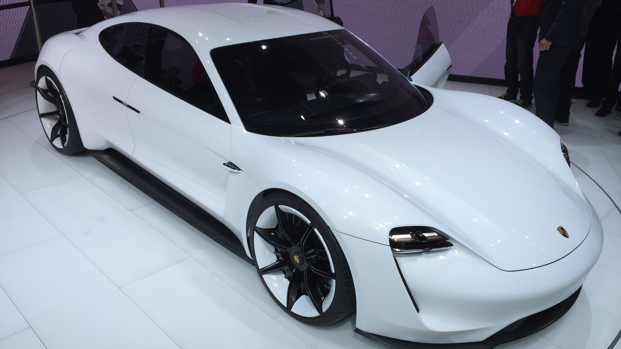2018 Porsche Mission E: 600-HP Electric Sport Sedan Concept