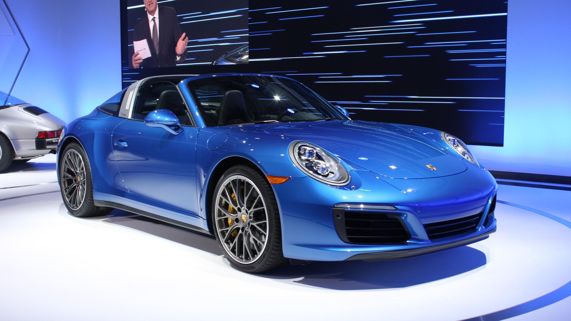 2017 Porsche 911 Targa 4S, 2015 Los Angeles Auto Show