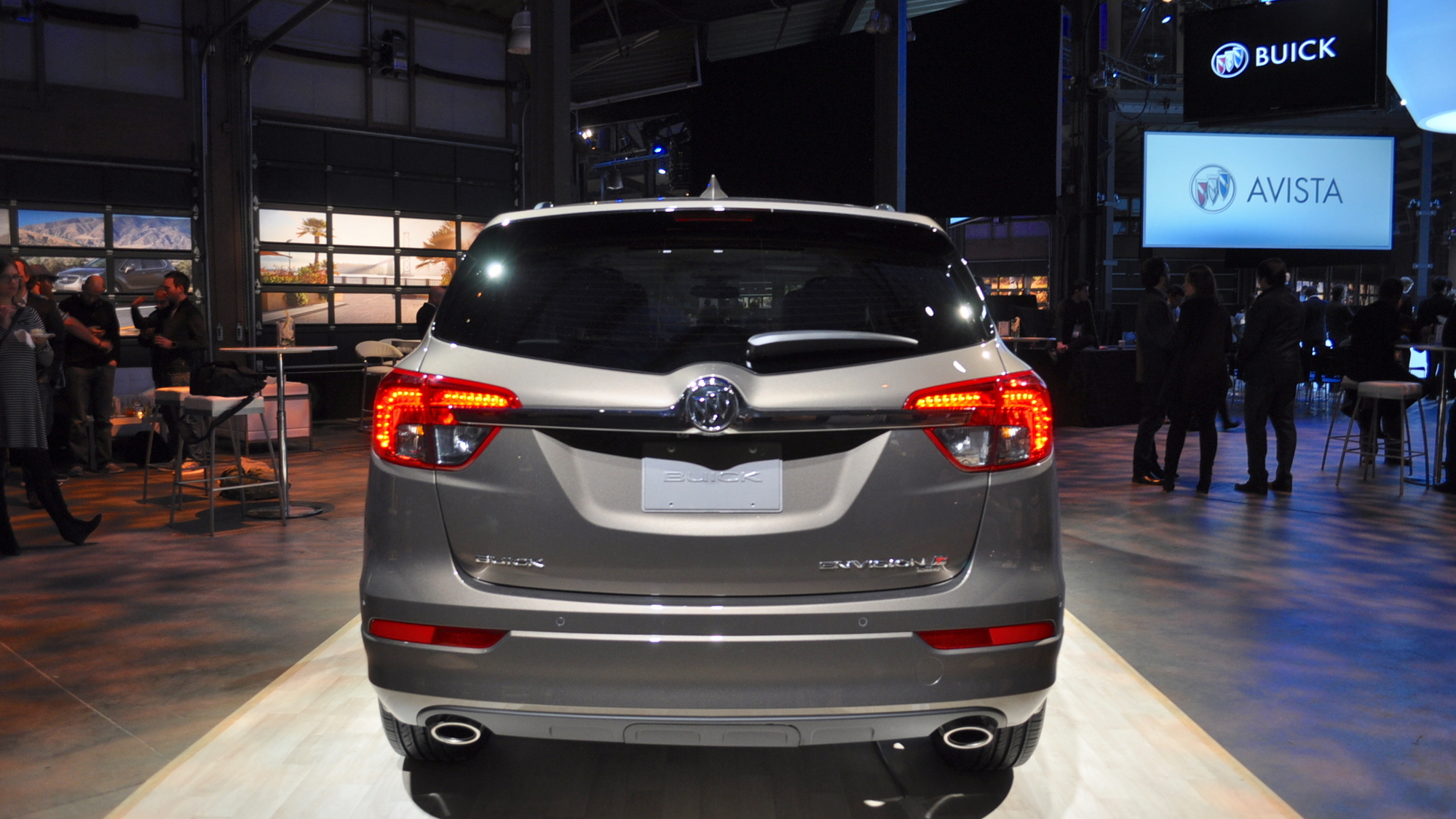 2016 Buick Envision, 2016 Detroit Auto Show
