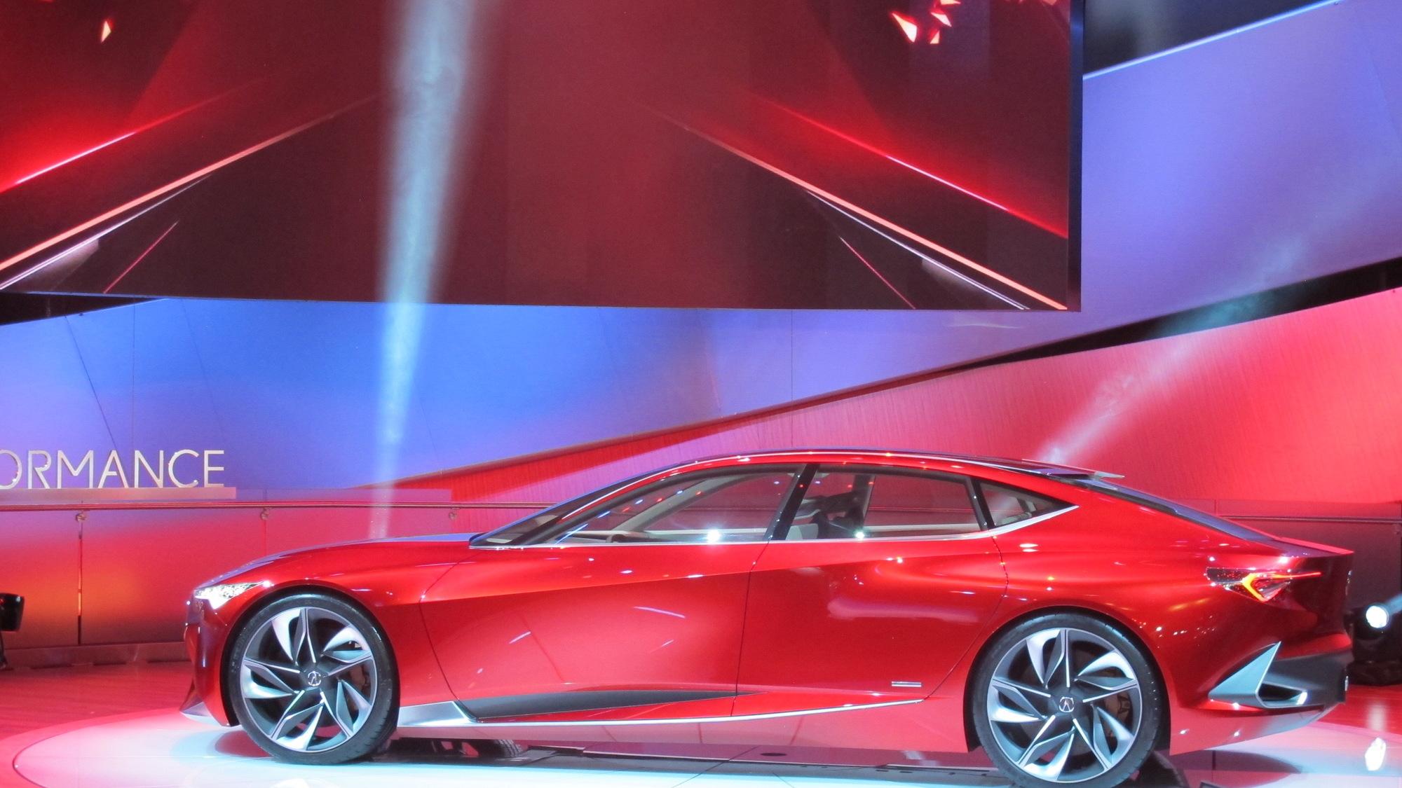 Acura Precision Concept, 2016 Detroit Auto Show