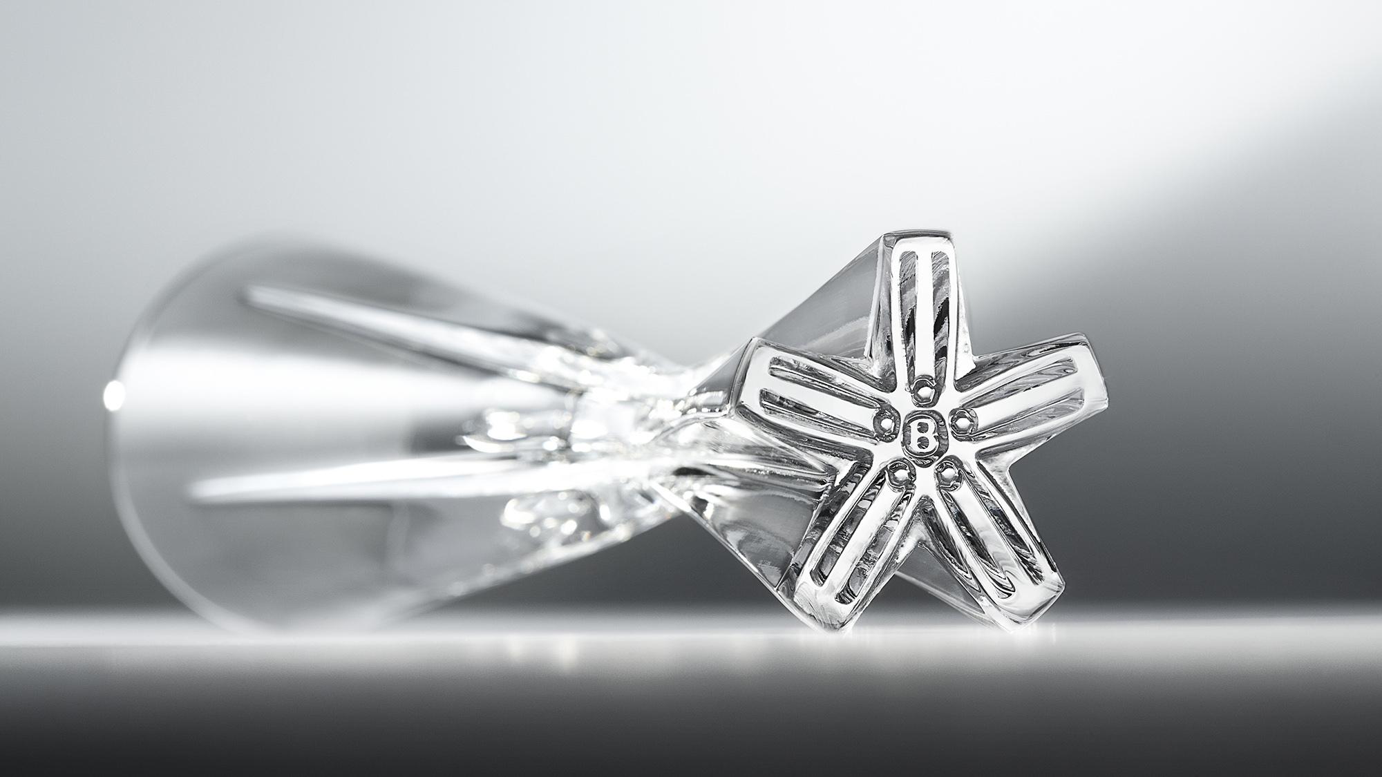 David Redman Champagne Flute For Bentley Mulliner