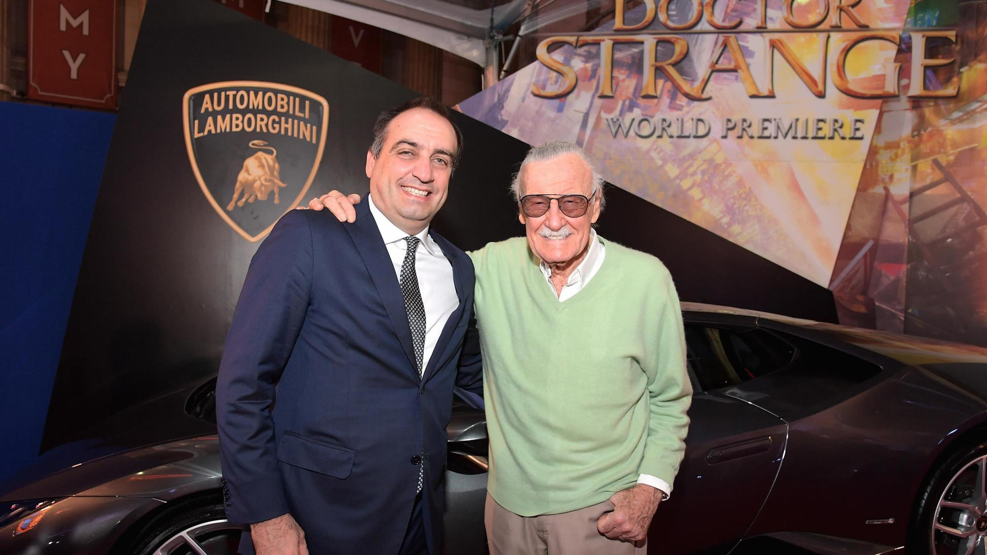 Lamborghini Huracan stars in new Marvel film Dr. Strange
