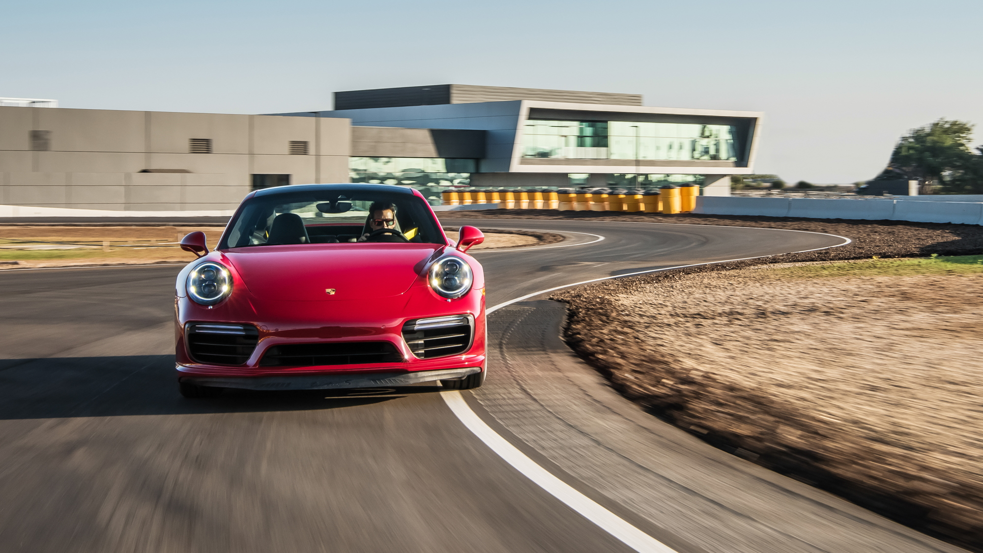 Porsche Experience Center and Motorsports Headquarters open in Los Angeles
