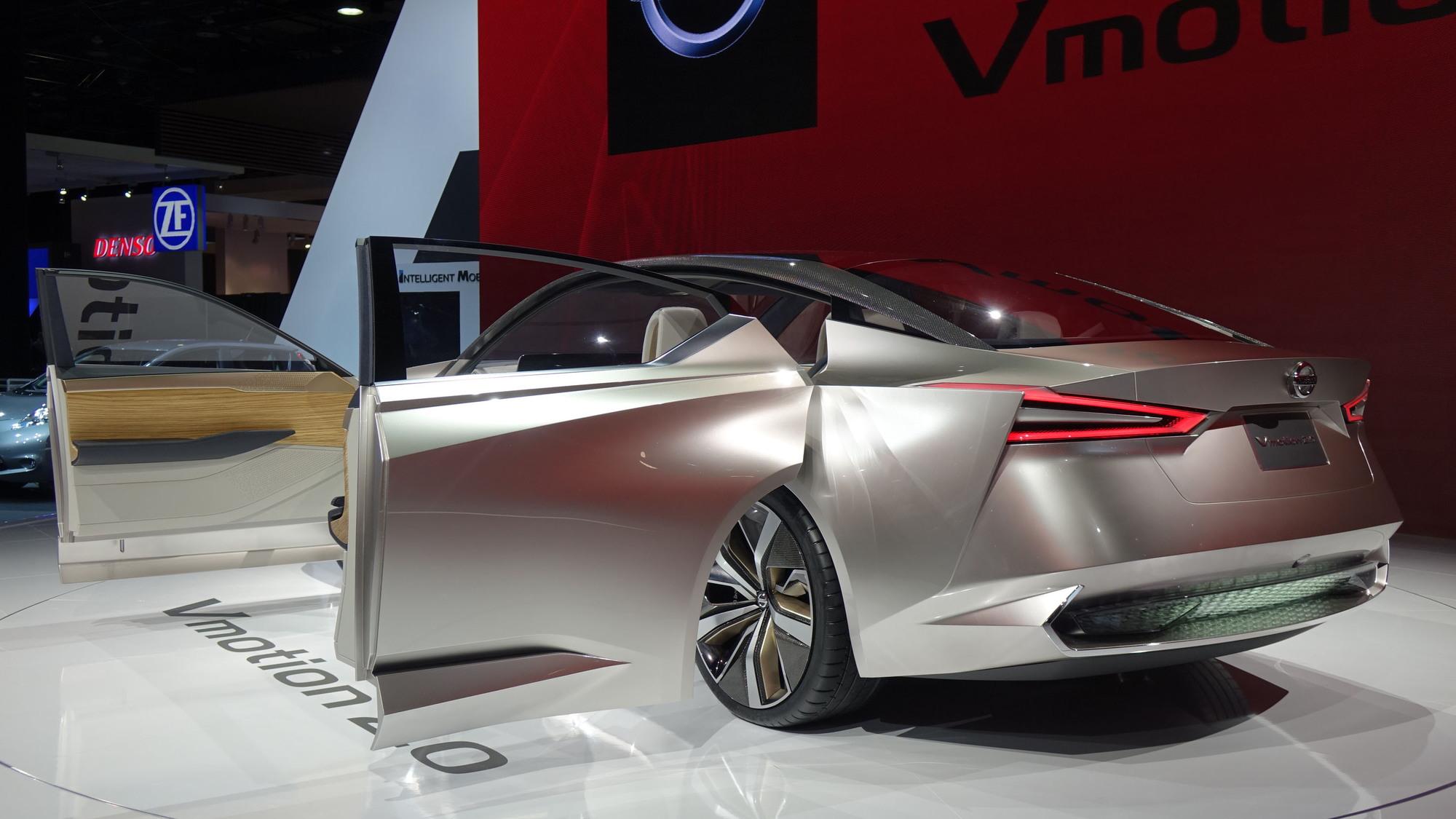 Nissan Vmotion 2.0 concept, 2017 Detroit auto show