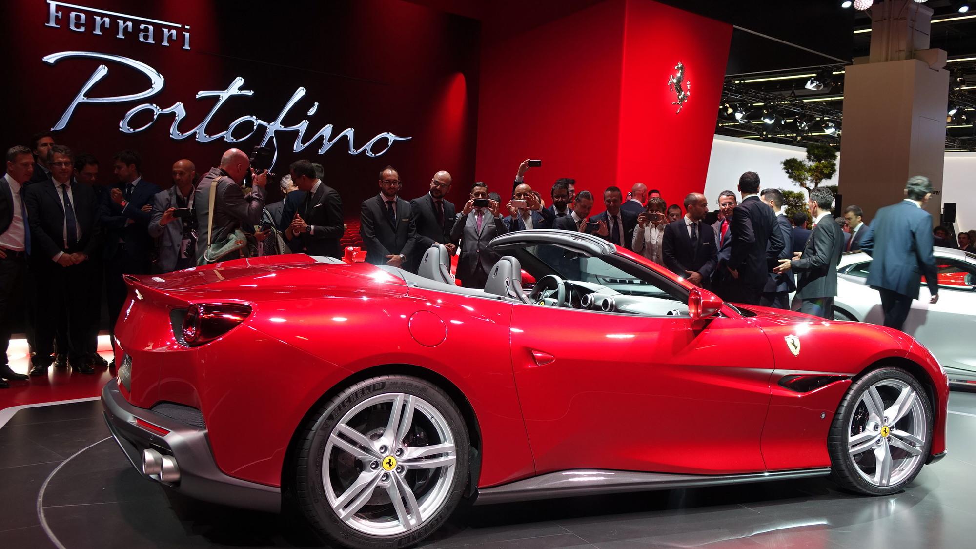 Ferrari Portofino,  2017 Frankfurt Motor Show