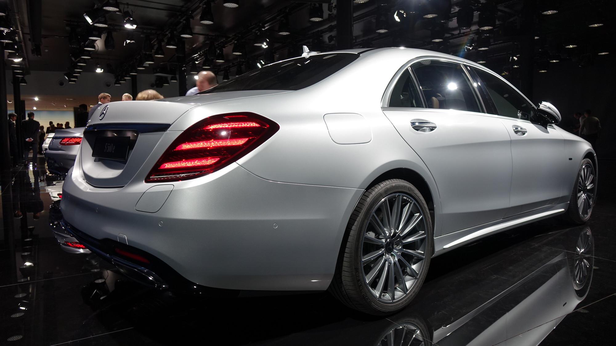 2018 Mercedes-Benz S560e, 2017 Frankfurt Motor Show