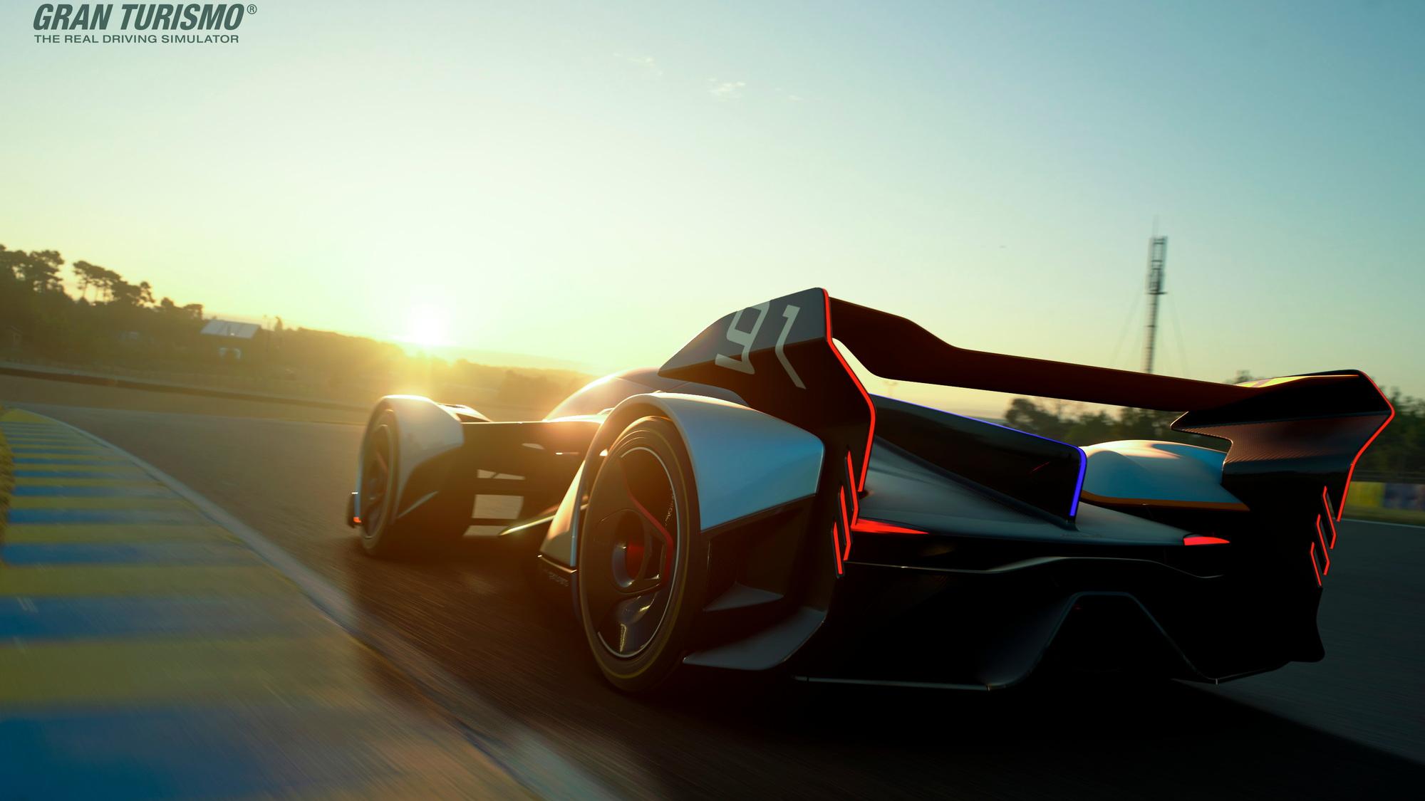 McLaren Ultimate Vision GT virtual concept car