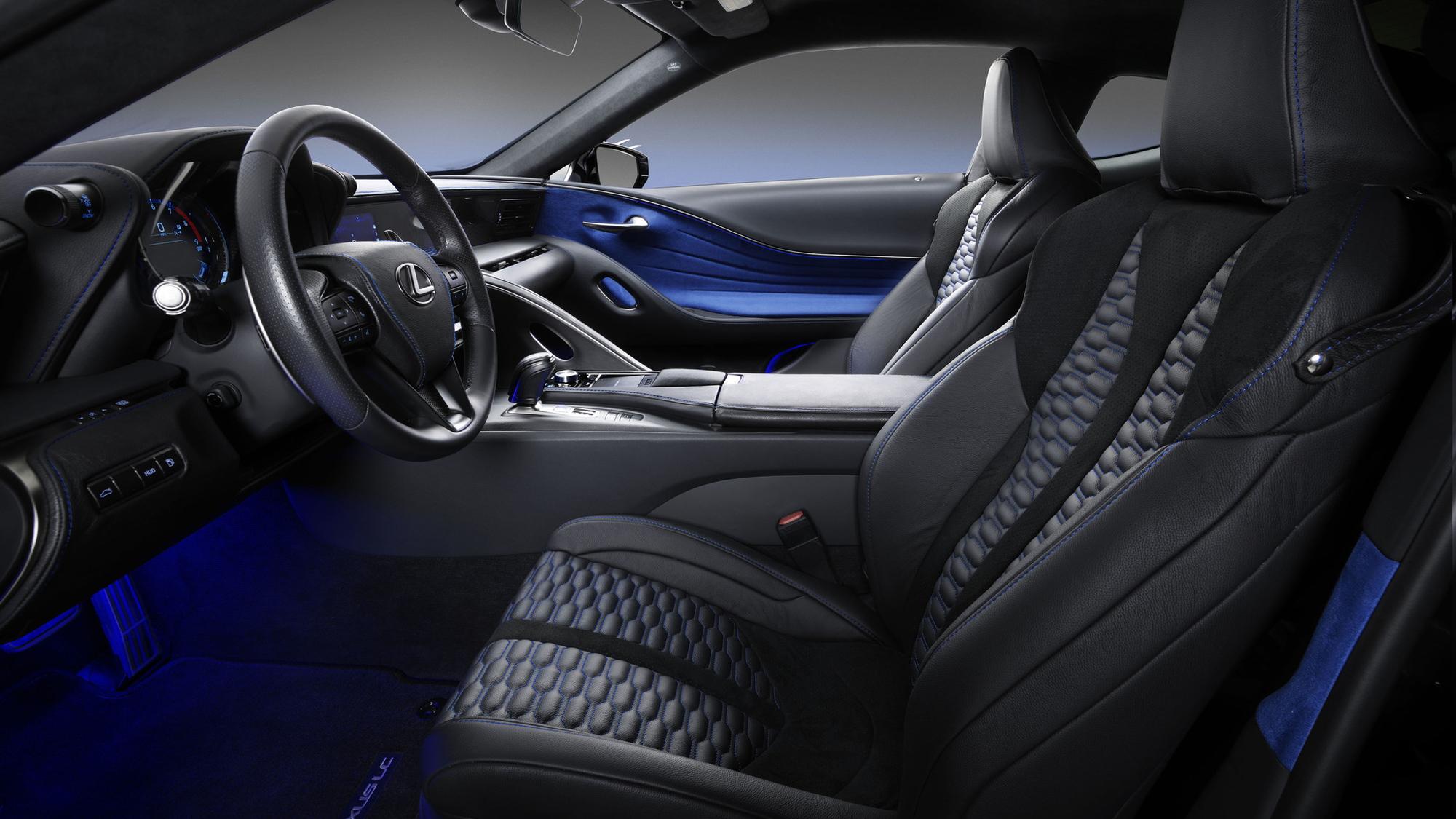Black Panther Inspired Lexus LC Car