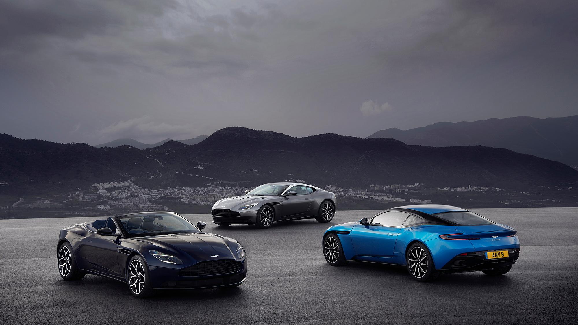 Aston Martin DB11 family