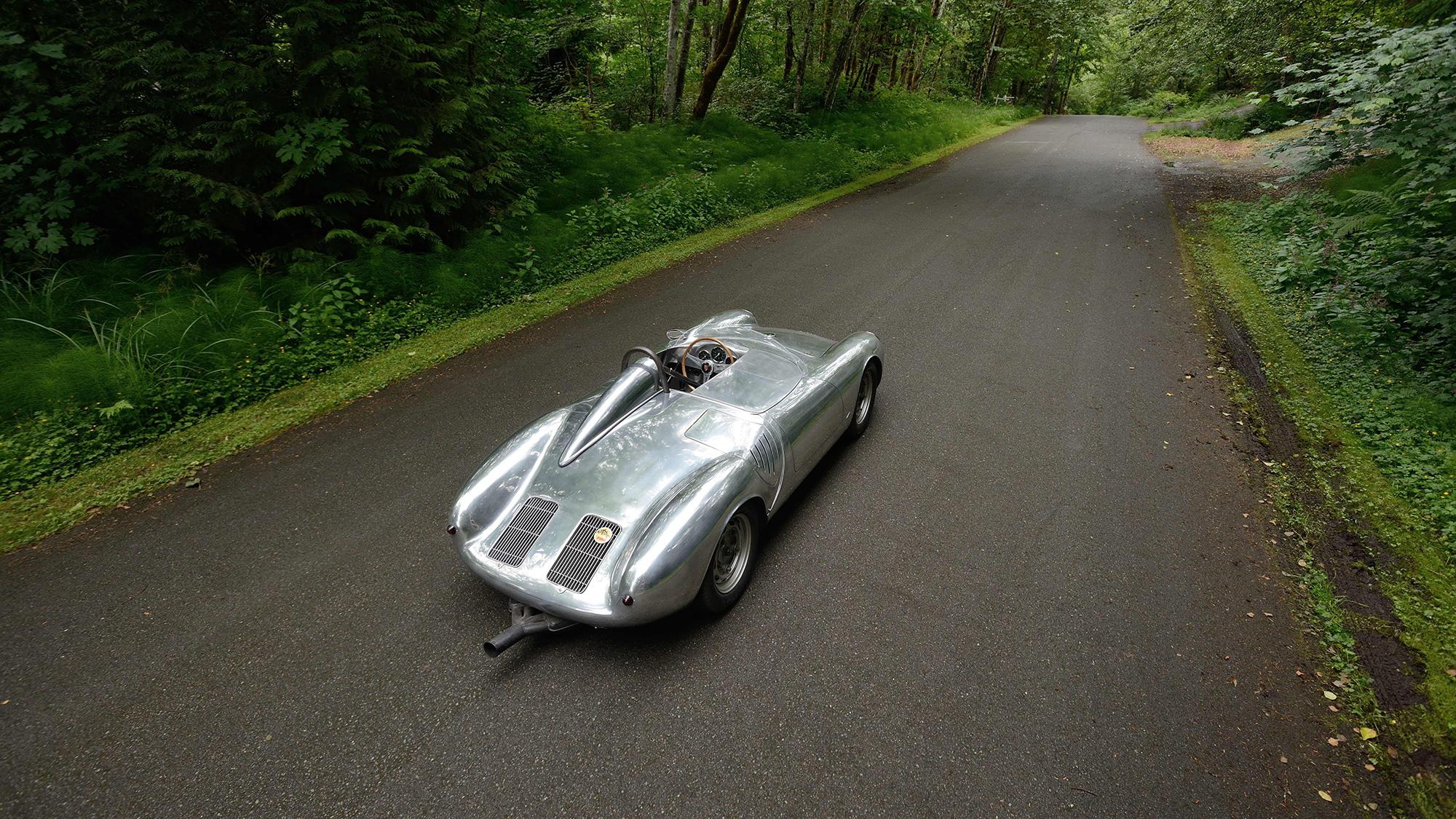 1958 Porsche 550A Spyder bearing chassis No. 0141