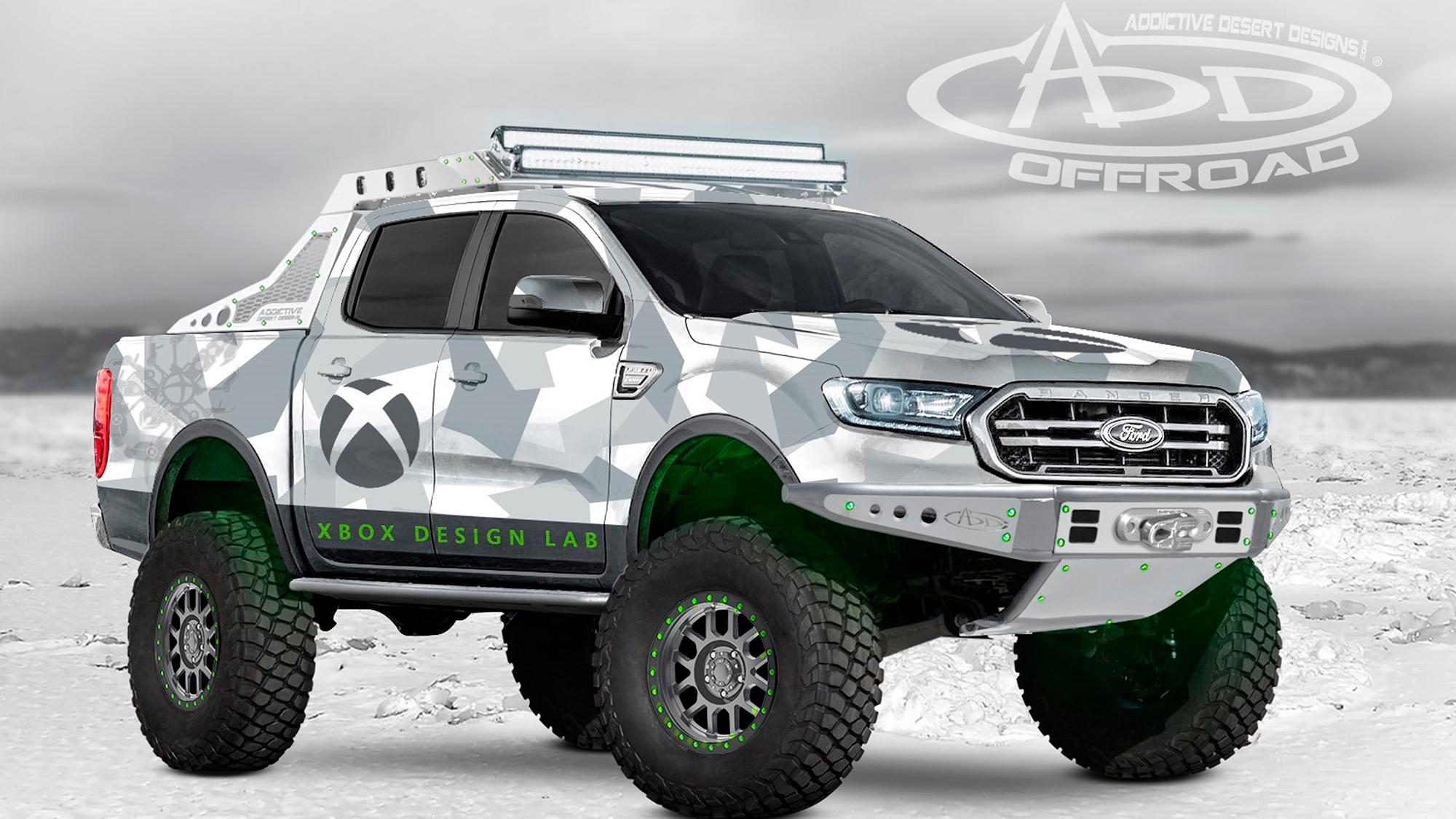 Ford Ranger SEMA Xbox Ranger