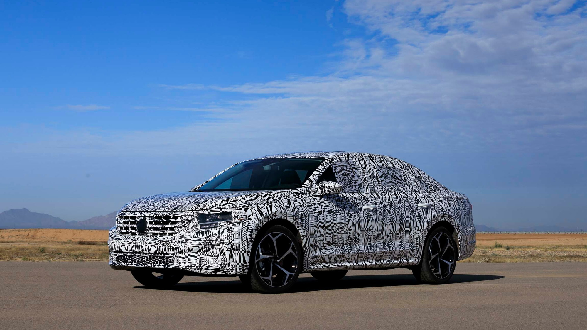 2020 Volkswagen Passat prototype first drive - December 2018