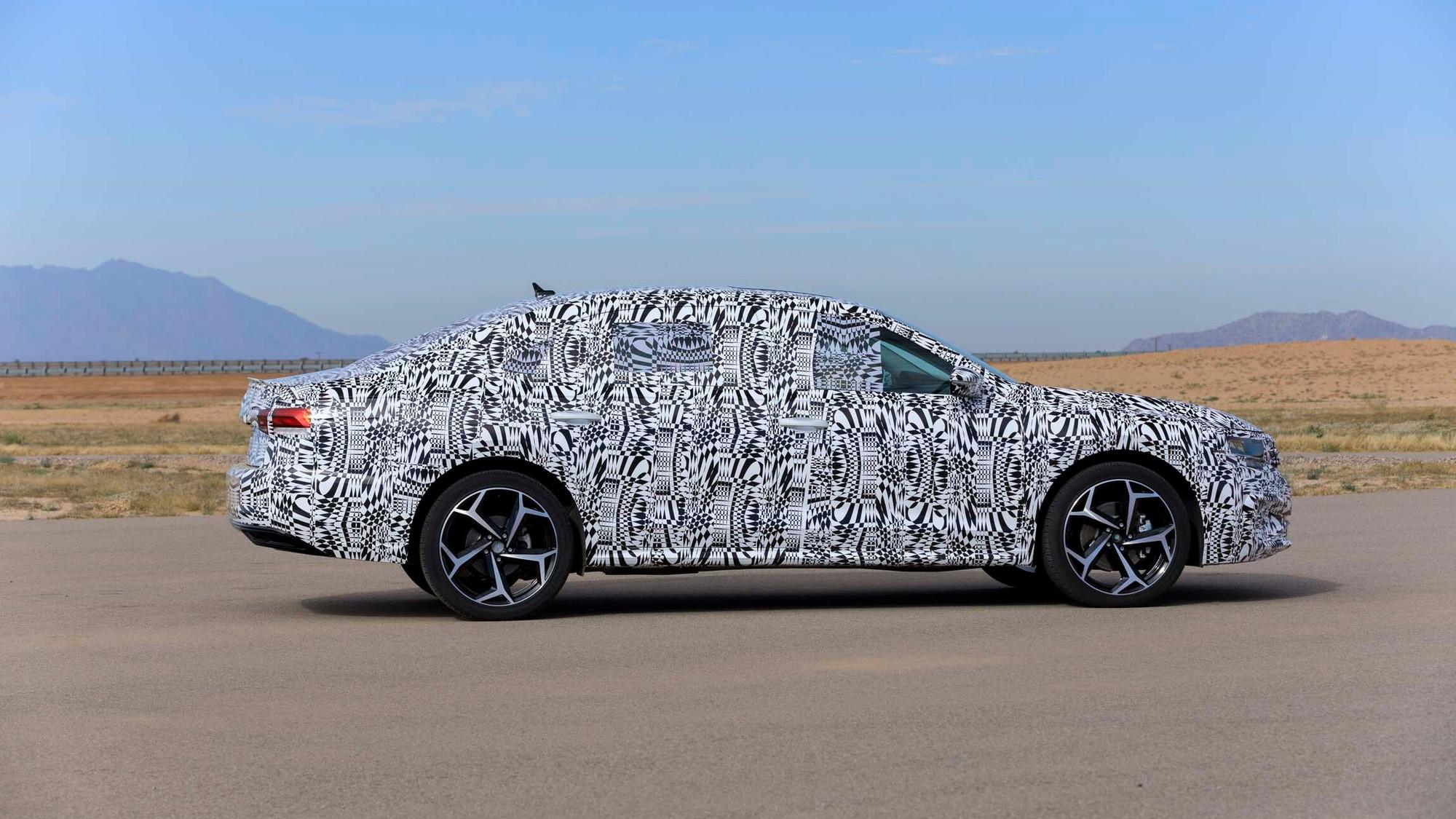 2020 Volkswagen Passat prototype first drive - December 2018