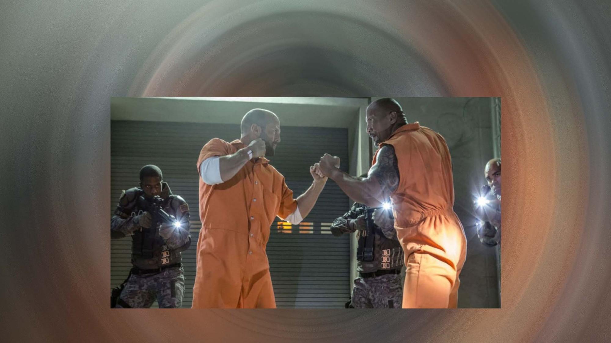 Dwayne Johnston and Jason Statham (Edit)
