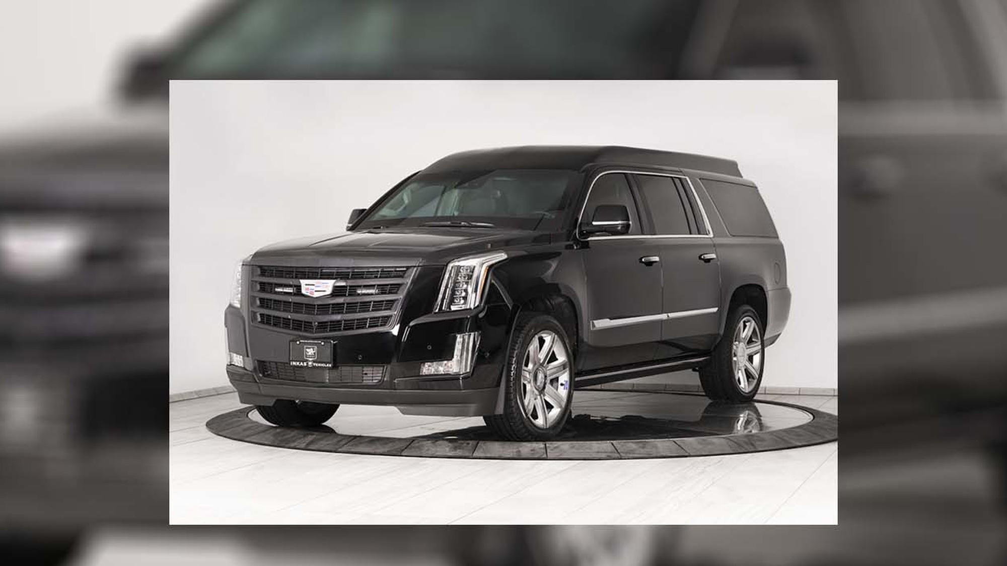 Armored 2019 Cadillac Escalade ESV by Inkas edited
