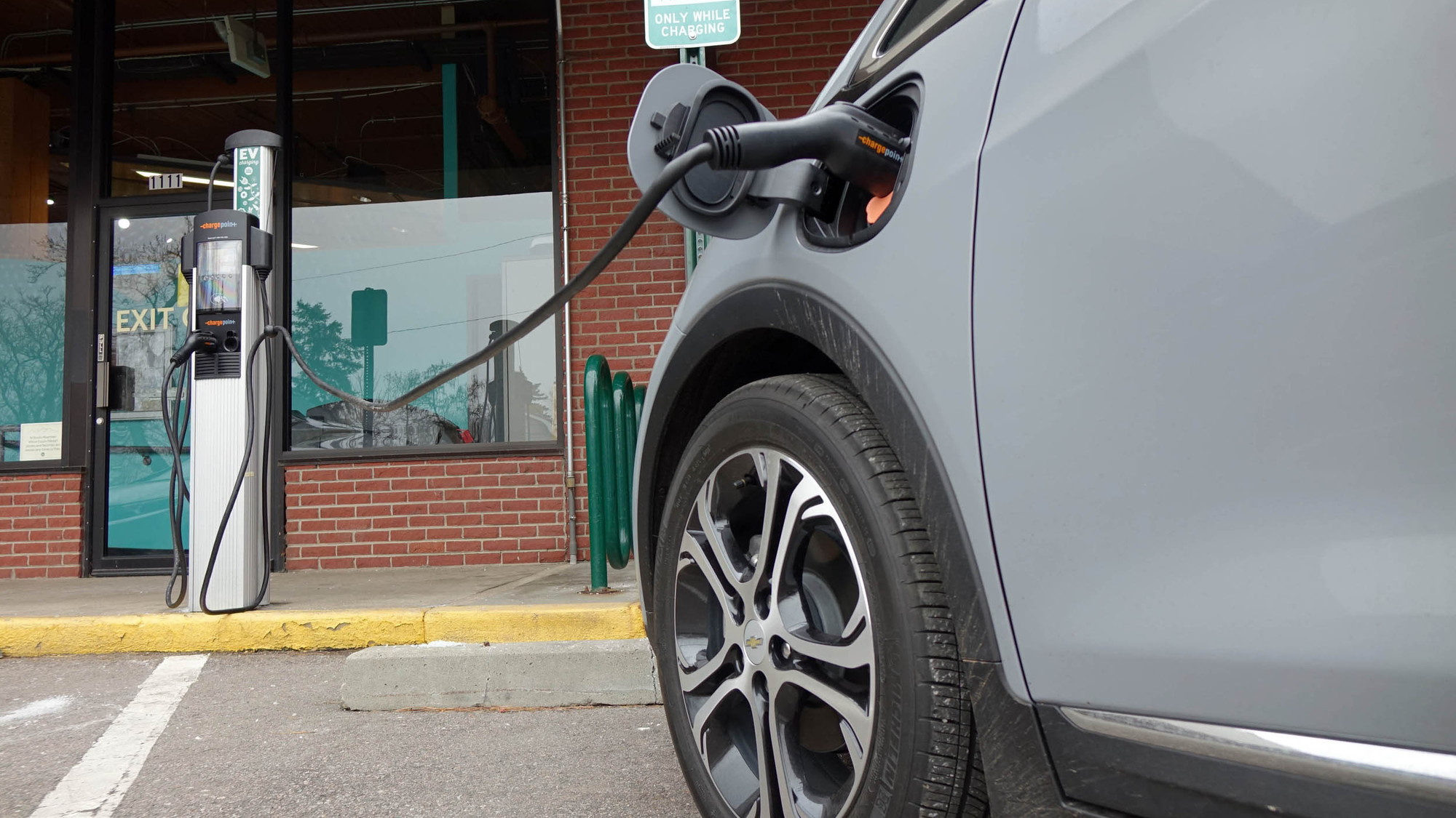 2019 Chevrolet Bolt EV at public charging station