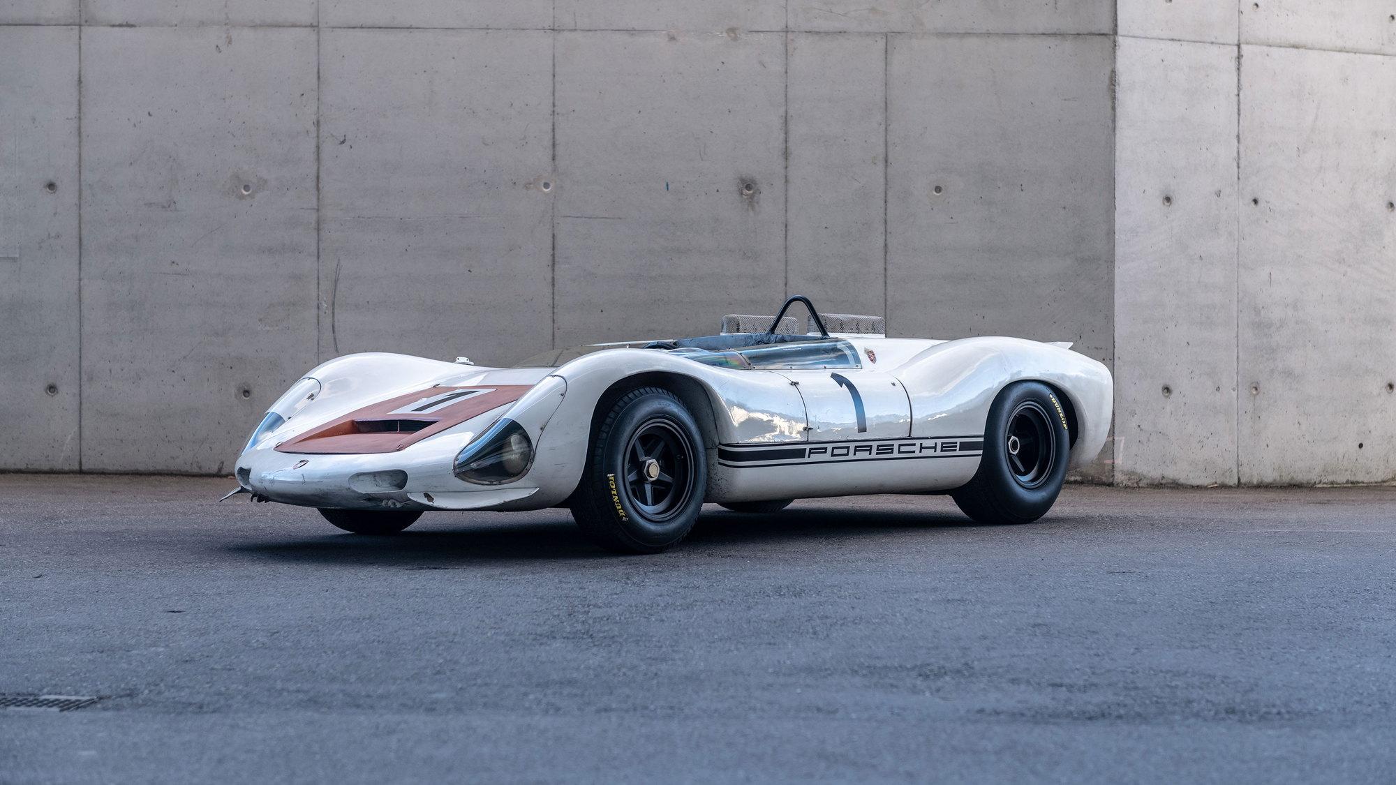 1967 910/8 Bergspyder preserved at Porsche Museum