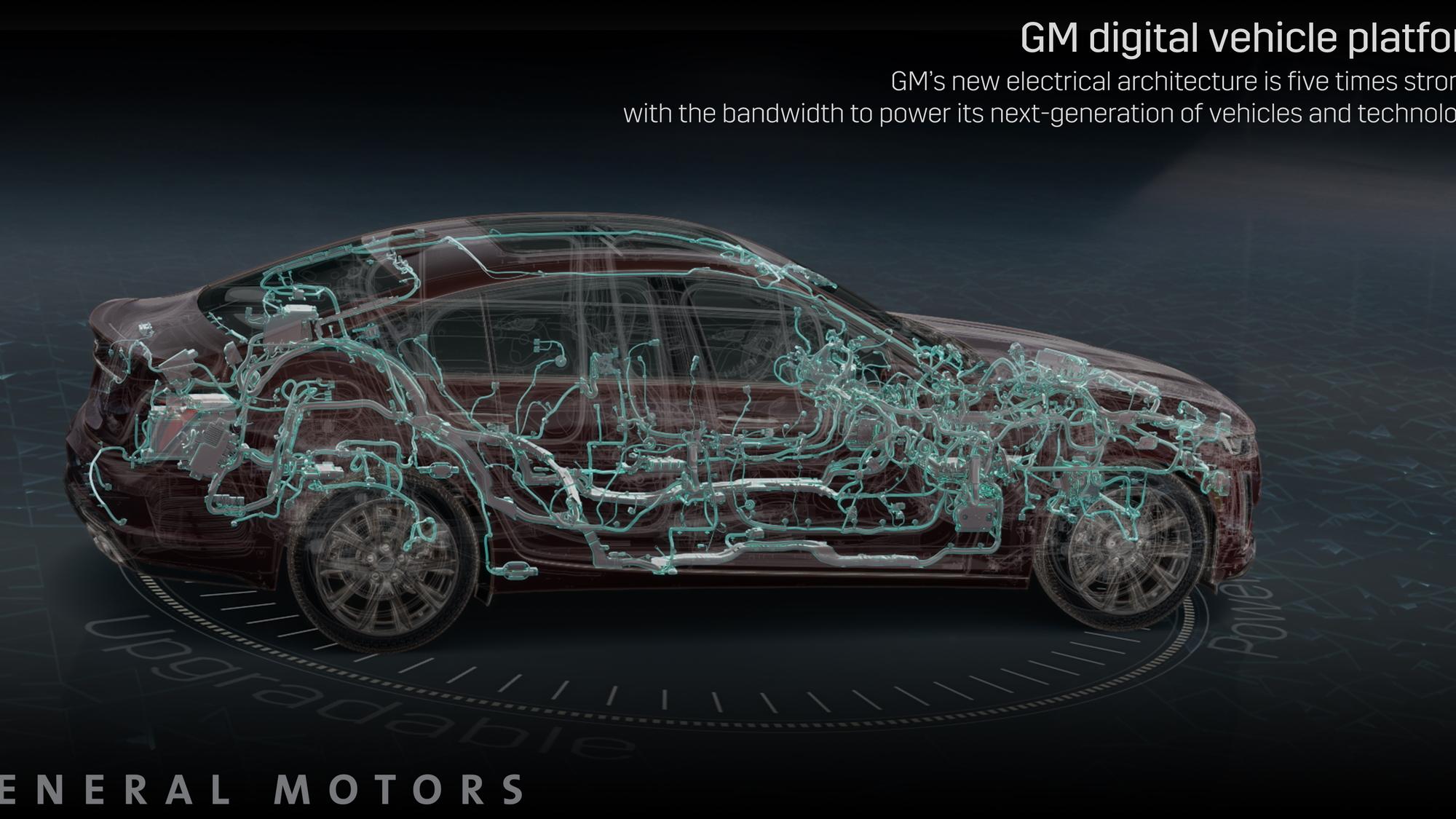 General Motors next-generation electrical platform