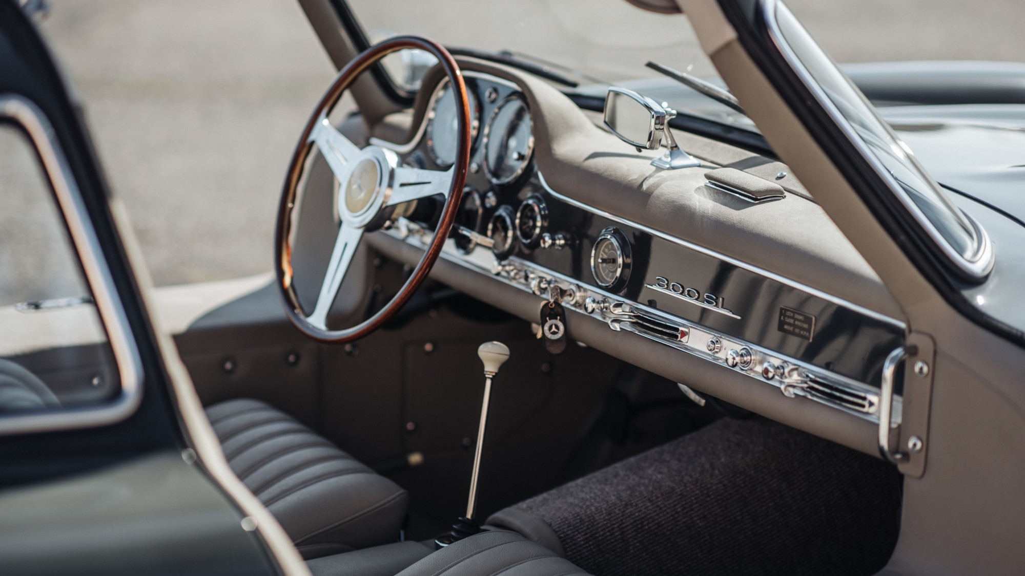 1956 Mercedes-Benz 300SL Gullwing, Bring a Trailer premium auction