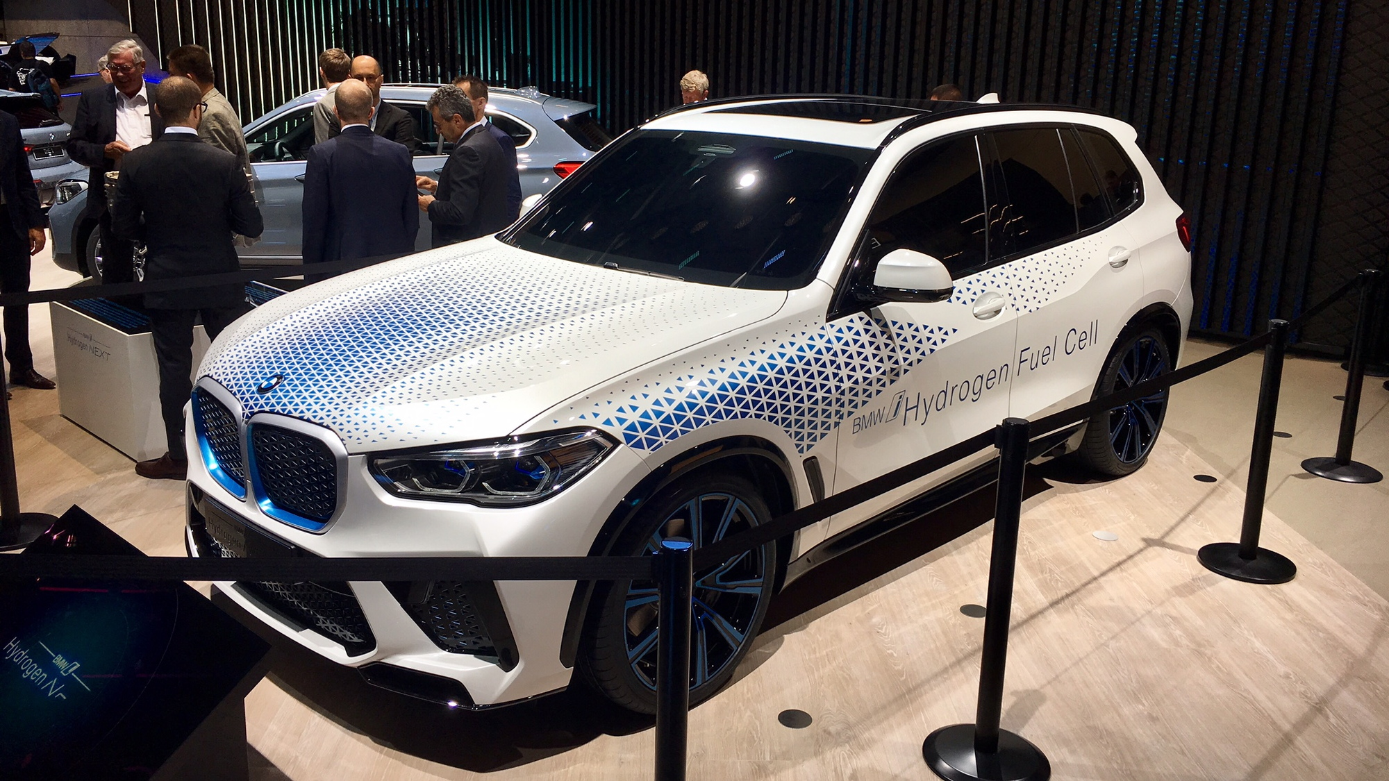 BMW i Hydrogen Next development vehicle (fuel-cell X5)  -  2019 Frankfurt auto show