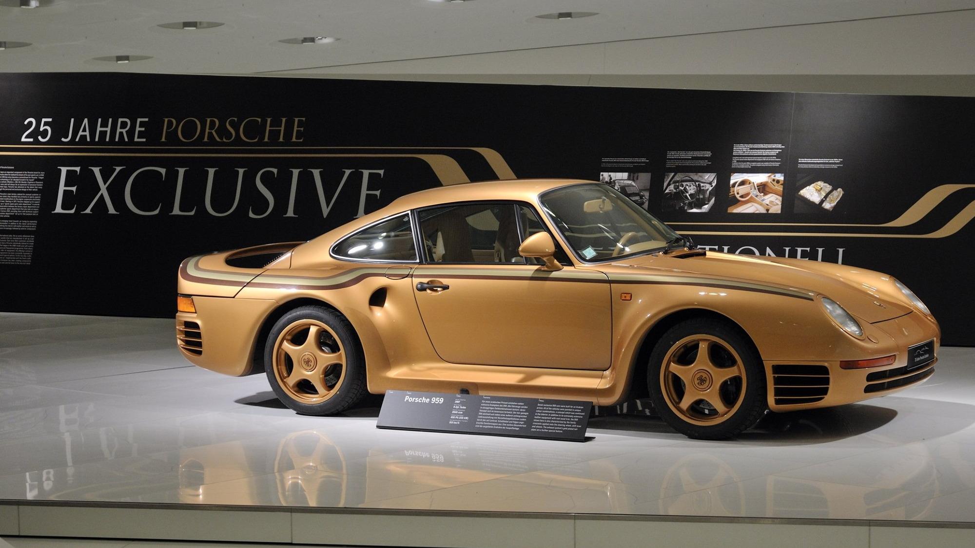 Porsche 959 Exclusives for Arab sheikh
