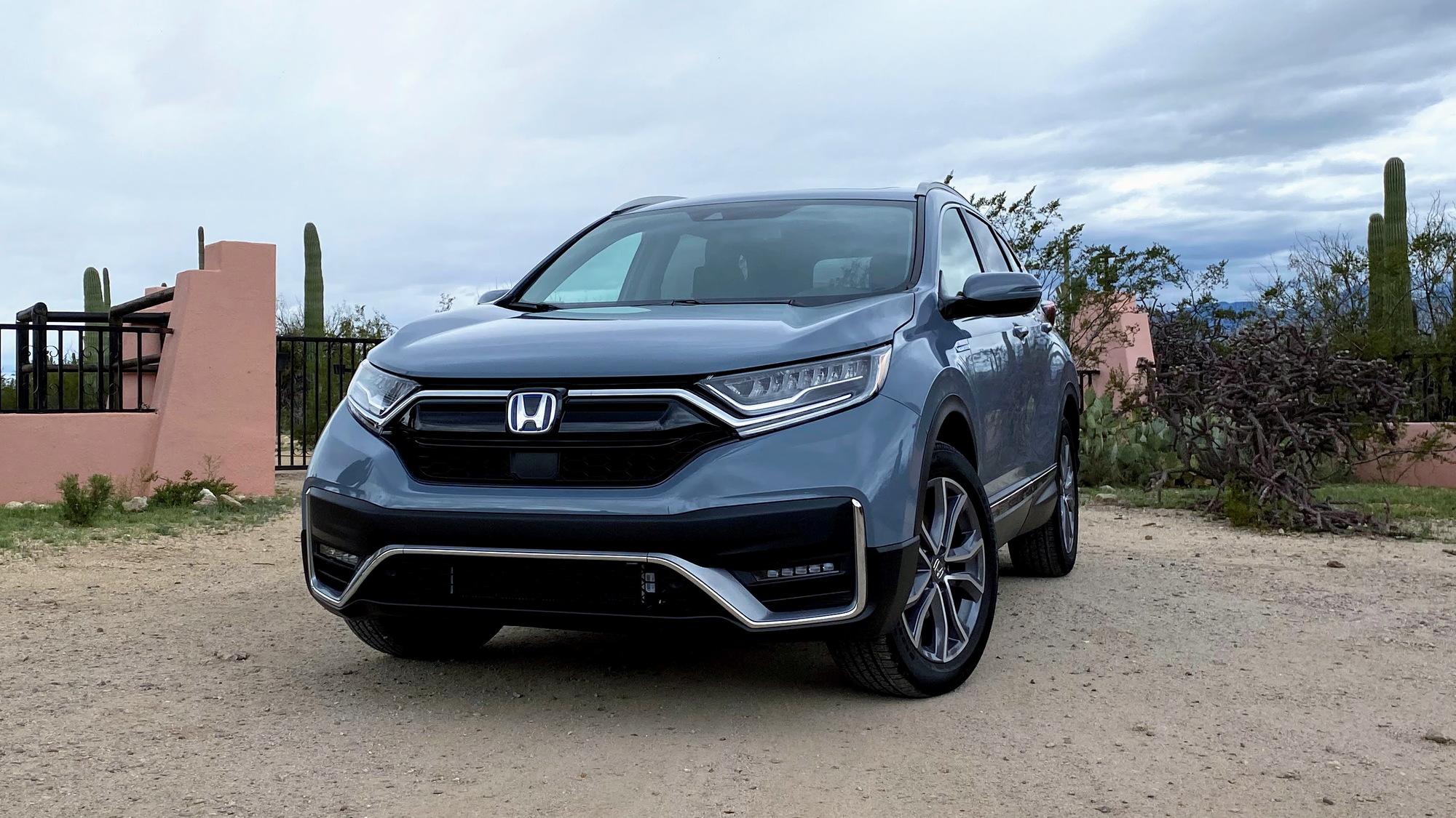 2020 Honda CR-V Hybrid  -  First Drive, March 2020