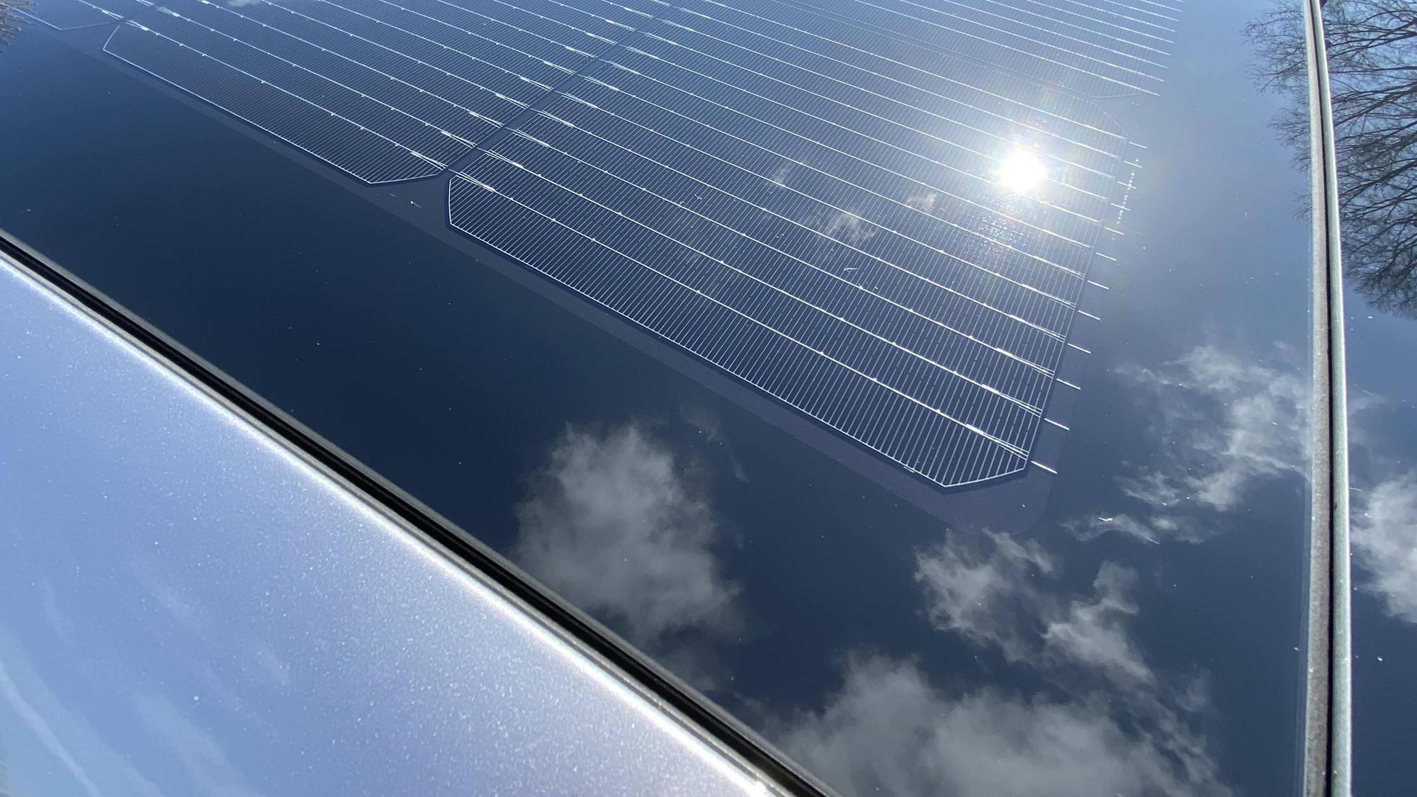 Solar Roof System in 2020 Hyundai Sonata Hybrid  -  Portland OR, April 2020